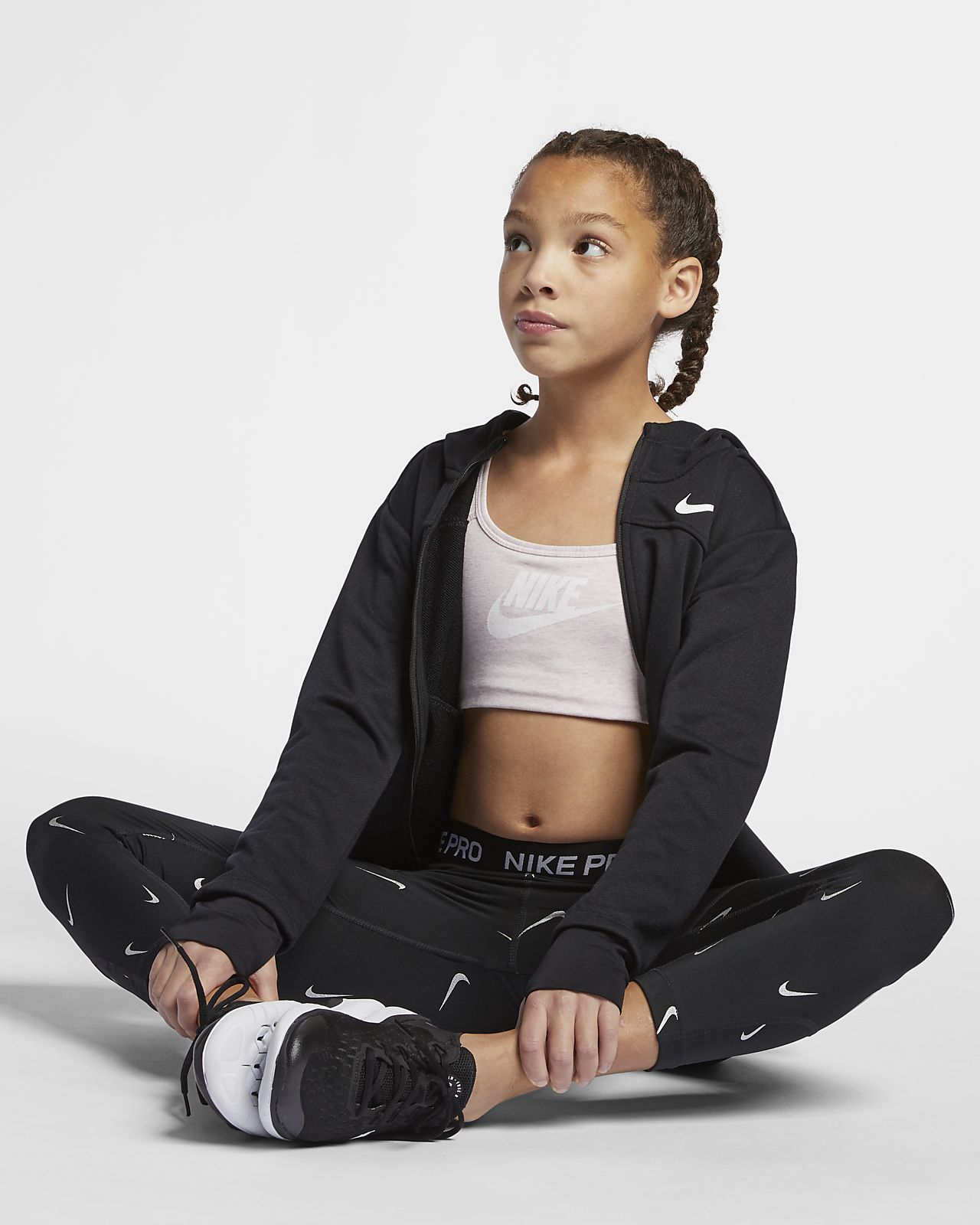 Nike Sportswear Big Kids' (Girls') Sports Bra
