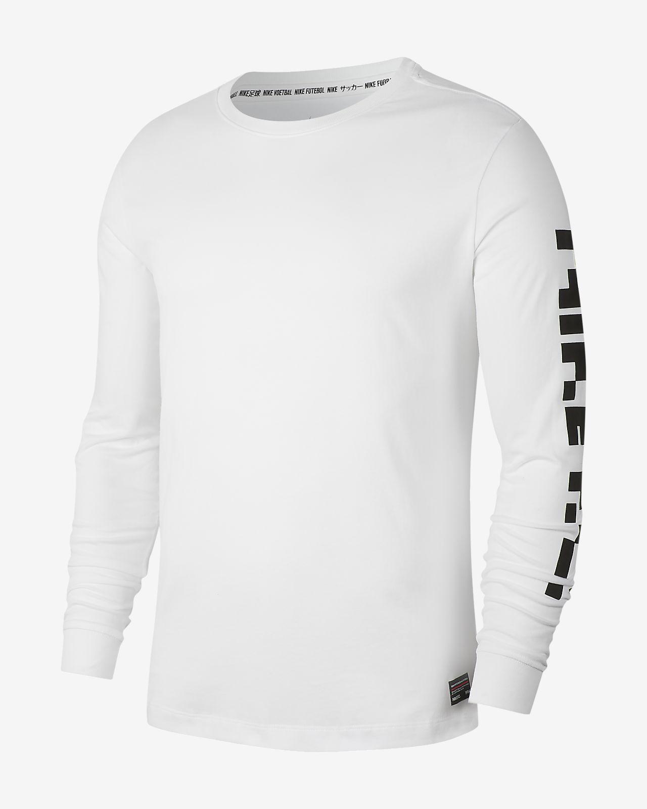 T-shirt da calcio a manica lunga Nike Dri-FIT F.C. - Uomo