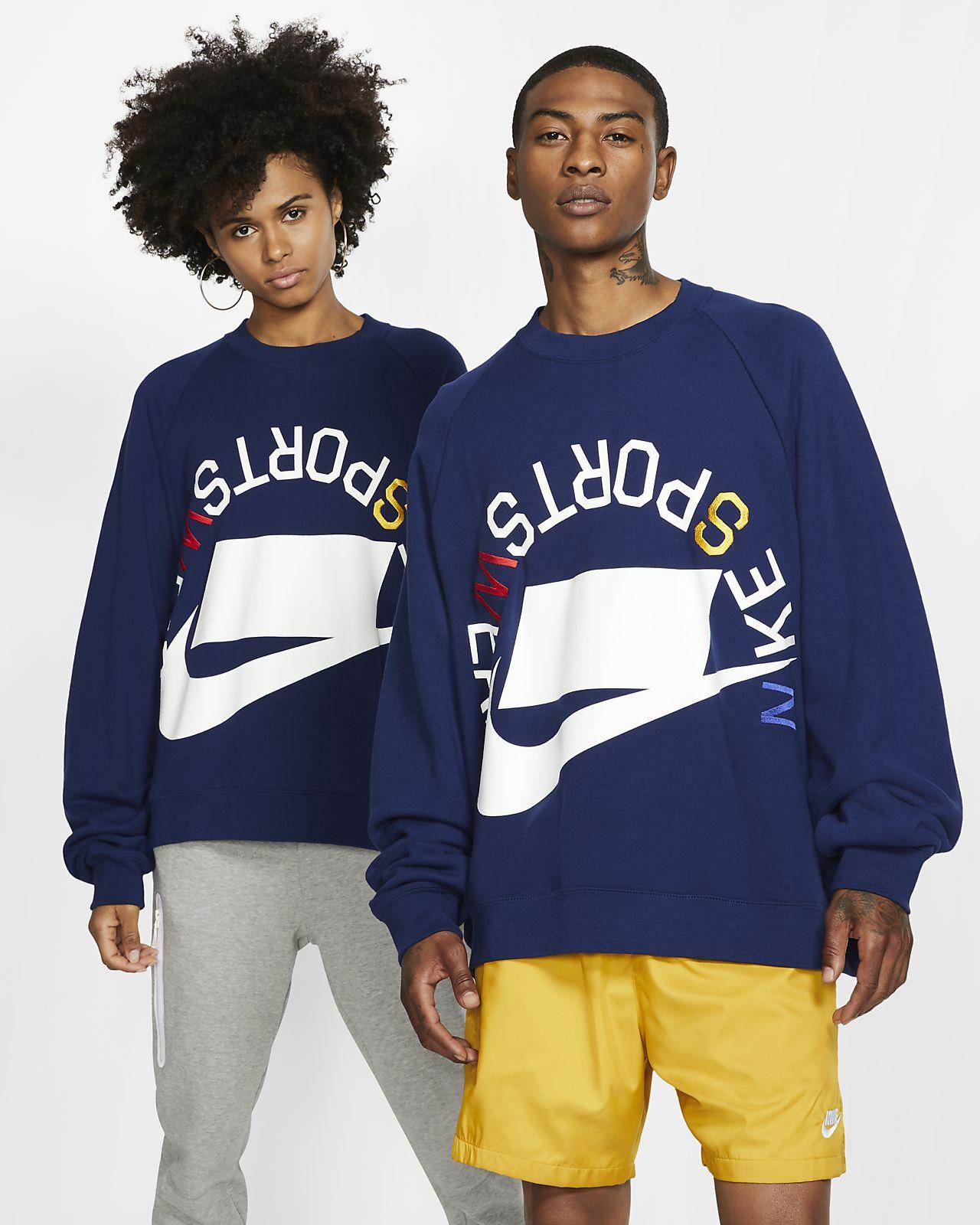 Maglia a girocollo in French Terry Nike Sportswear NSW