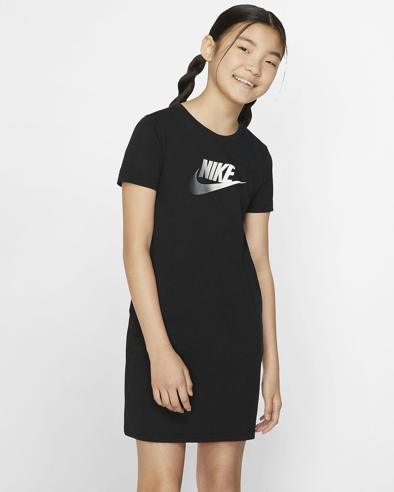 Nike Sportswear-kjole til store børn (piger)