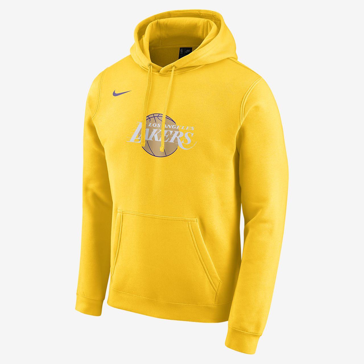 Lakers City Edition Logo Men's Nike NBA Hoodie