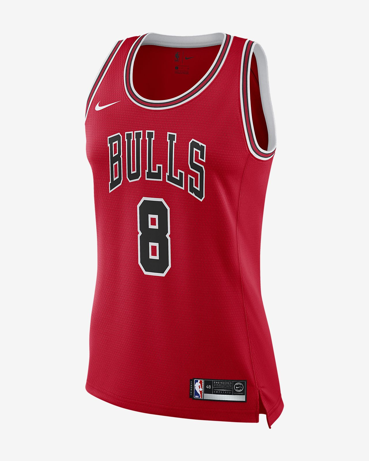89b95d220 Women s Nike NBA Connected Jersey. Zach LaVine Icon Edition Swingman (Chicago  Bulls)
