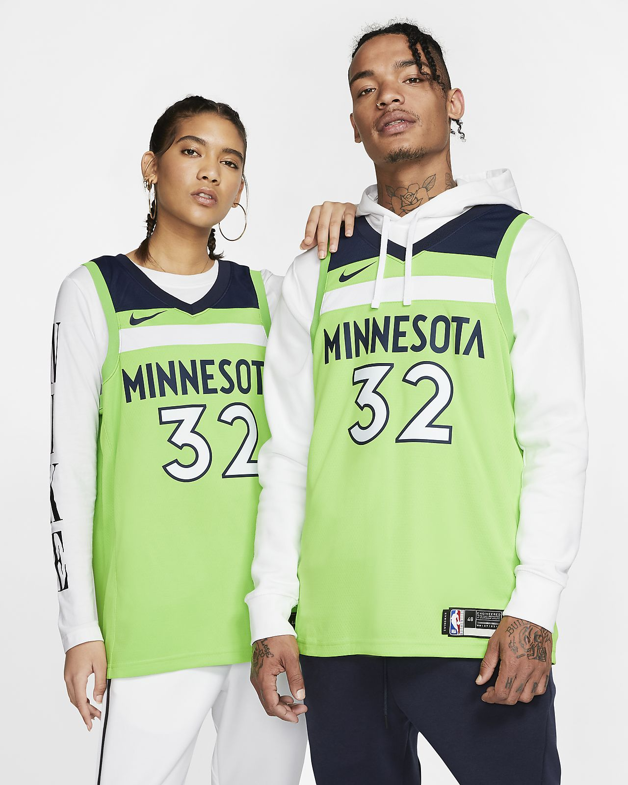 Karl-Anthony Towns Statement Edition Swingman Jersey (Minnesota Timberwolves) Men's Nike NBA Connected Jersey