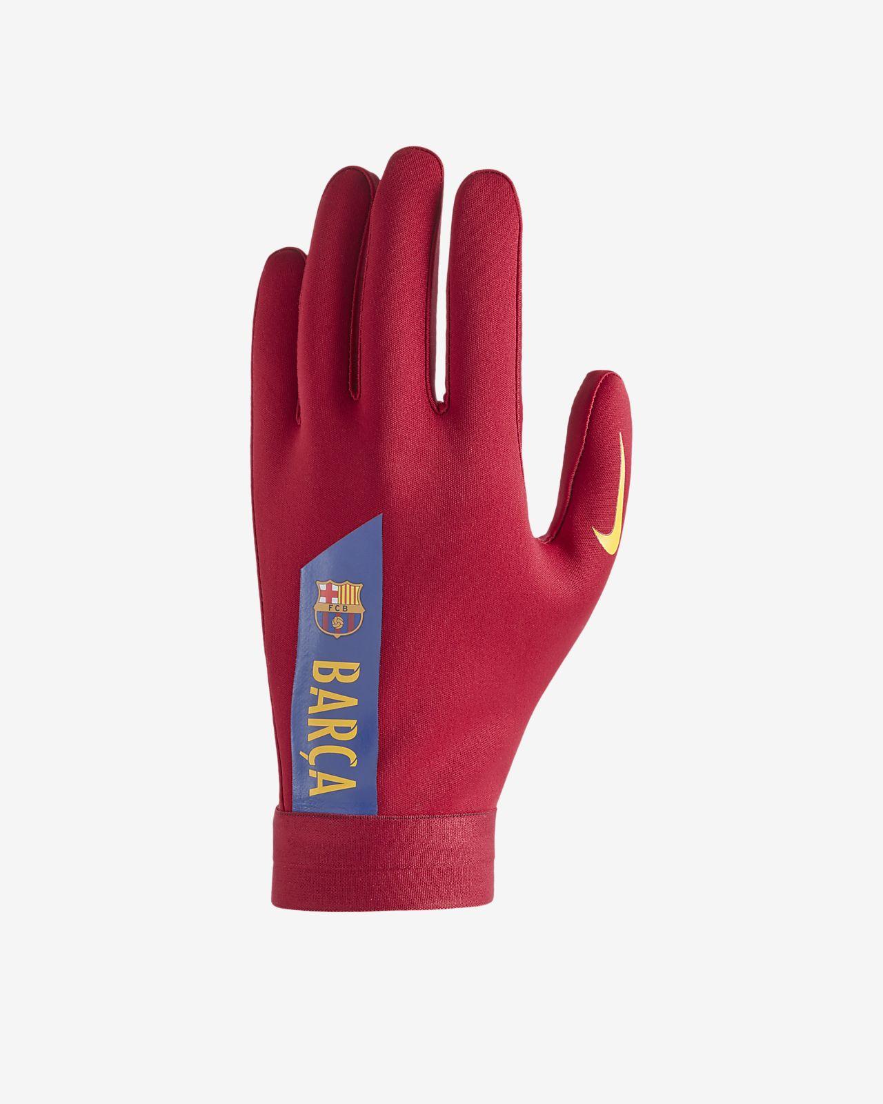 Nike HyperWarm FC Barcelona Academy Football Gloves. Nike.com DK b1c3e7fd51bb