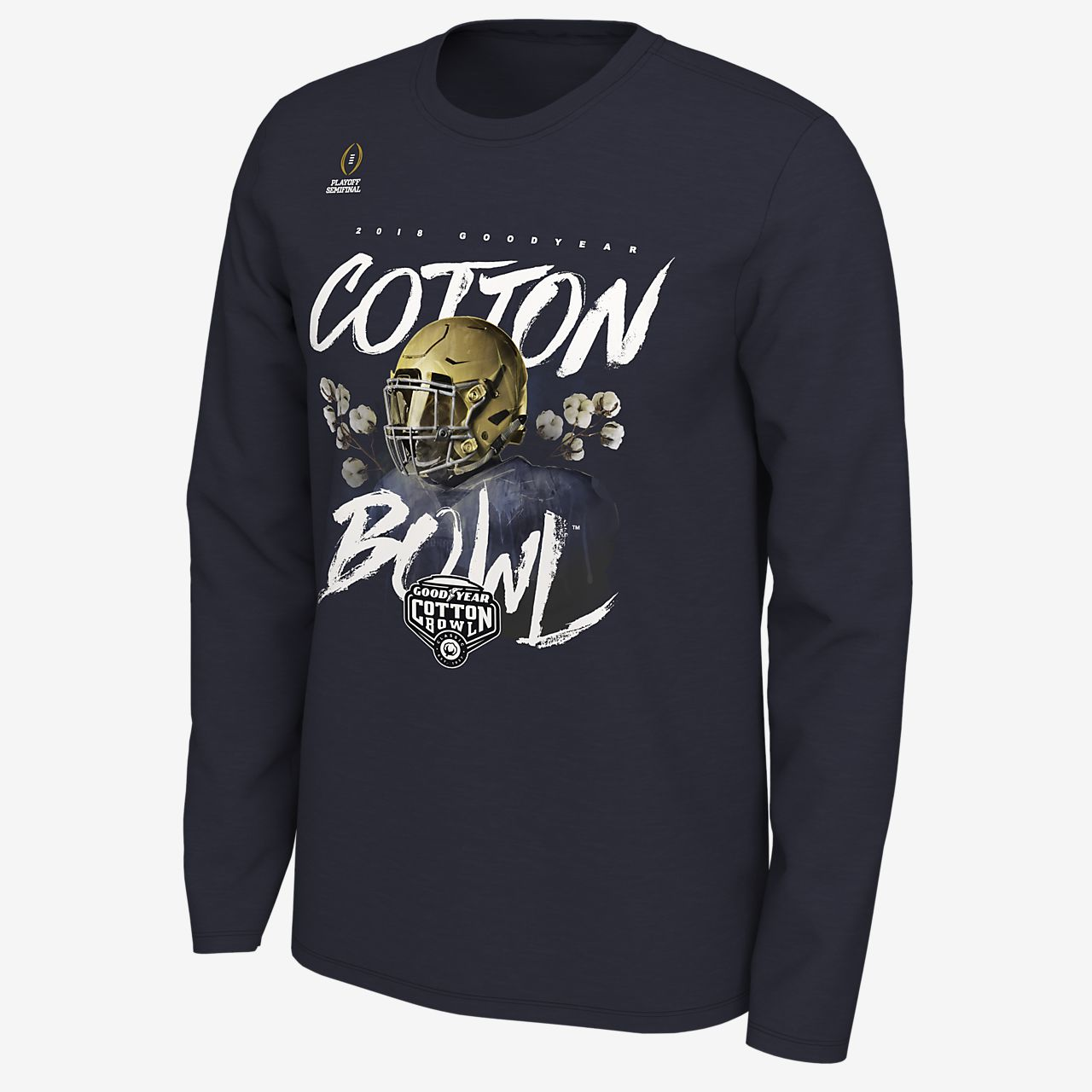 7e9711250 ... Nike College Playoff Bound (Notre Dame) Men's Long-Sleeve T-Shirt