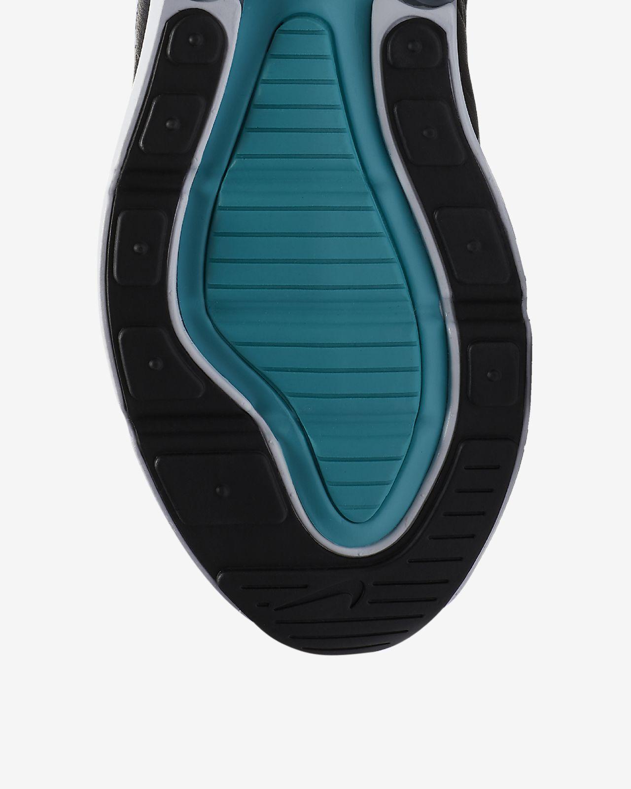 Mens Shoes Sneakers Nike Air Max 270 Black Neon Green AH8050 011