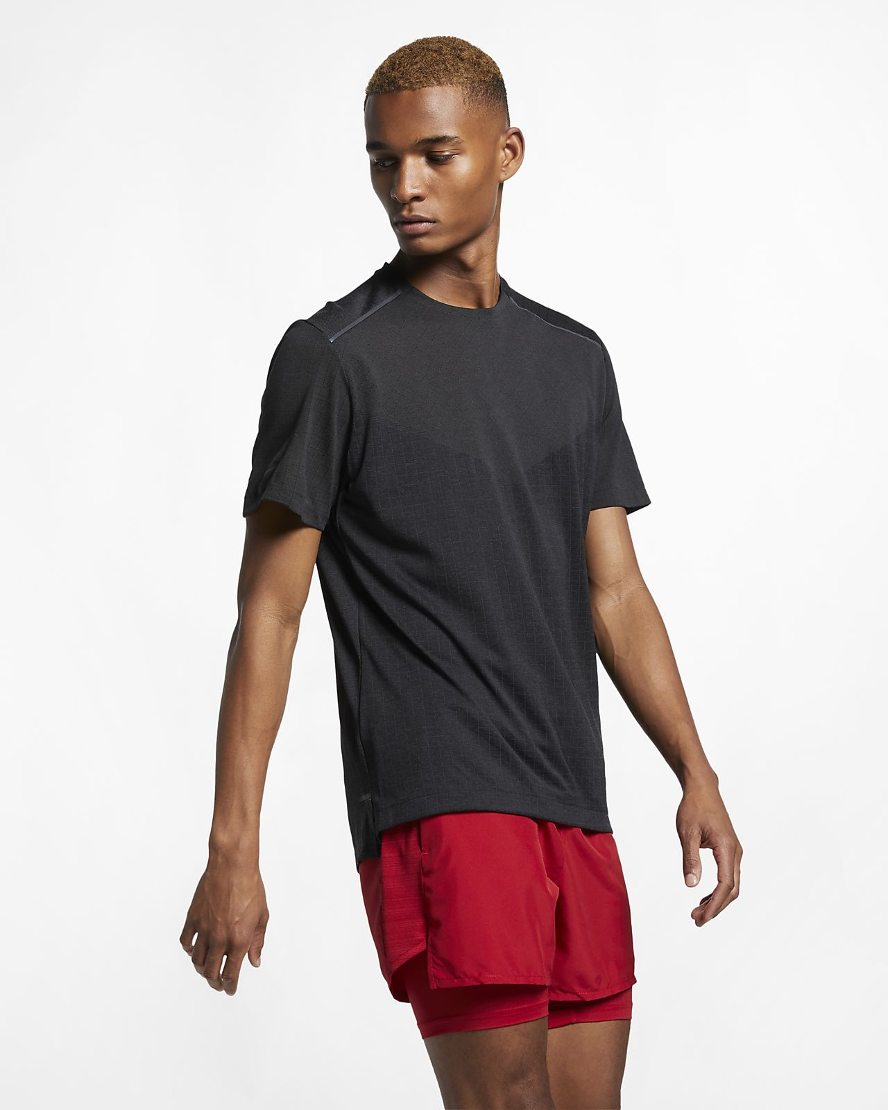 Nike Men's Short-Sleeve Running Top