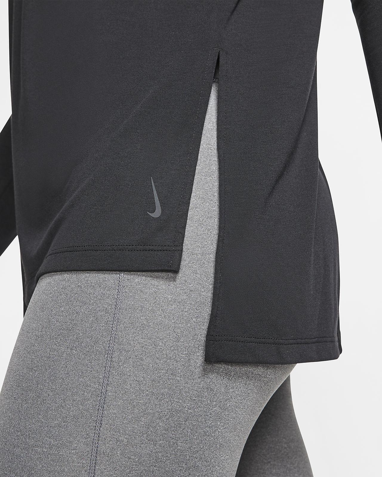 Camisola de treino de manga comprida Nike Dri FIT Yoga para mulher