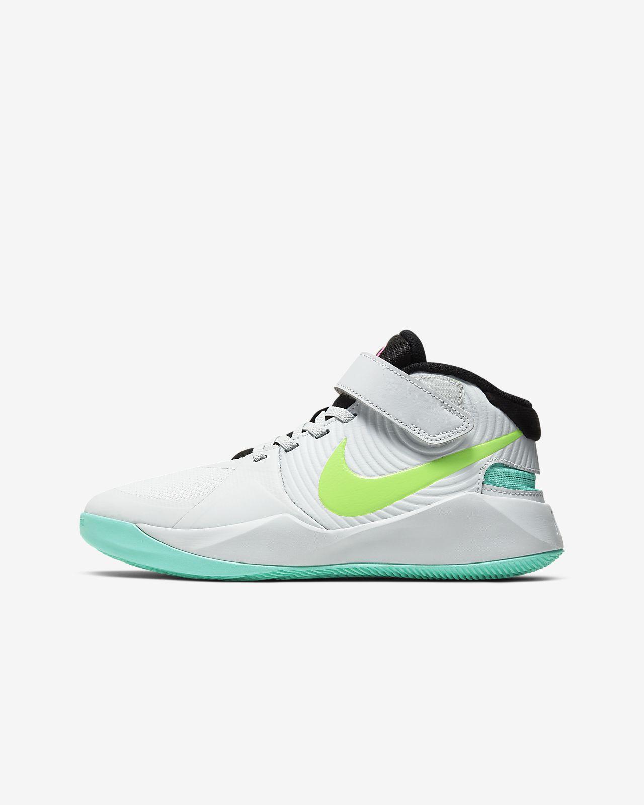 Nike Team Hustle D 9 FlyEase Big Kids' Basketball Shoe