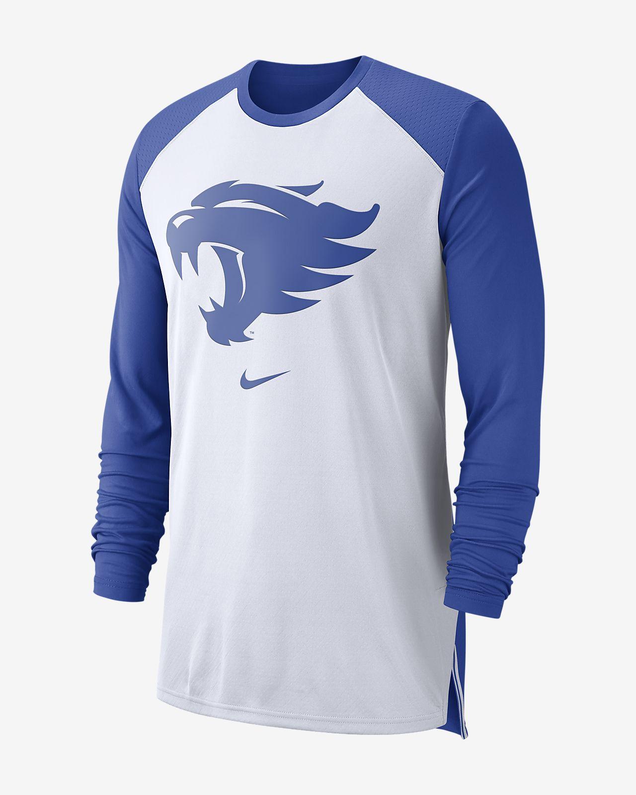 Nike College Dri-FIT (Kentucky) Men's Long-Sleeve Basketball Top