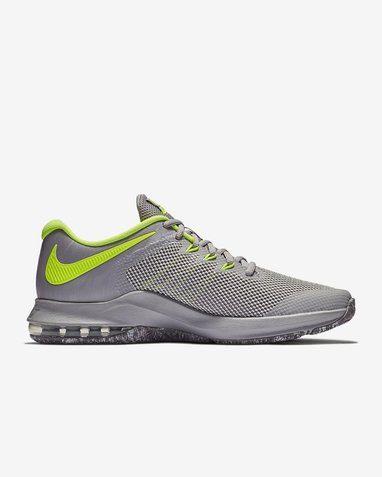 Nike PerformanceAIR MAX ALPHA TRAINER - Sports shoes - black ST9aOJp1e