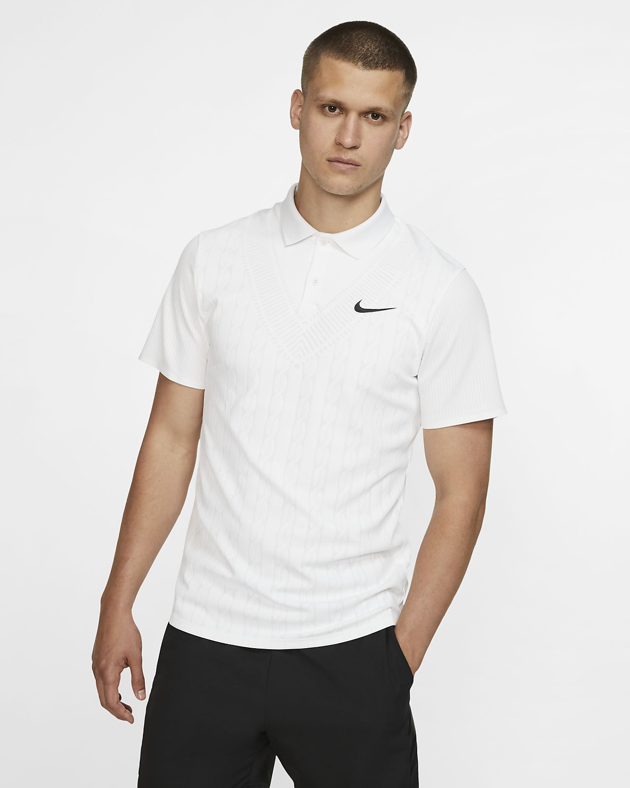NikeCourt Advantage Erkek Tenis Polo Üst