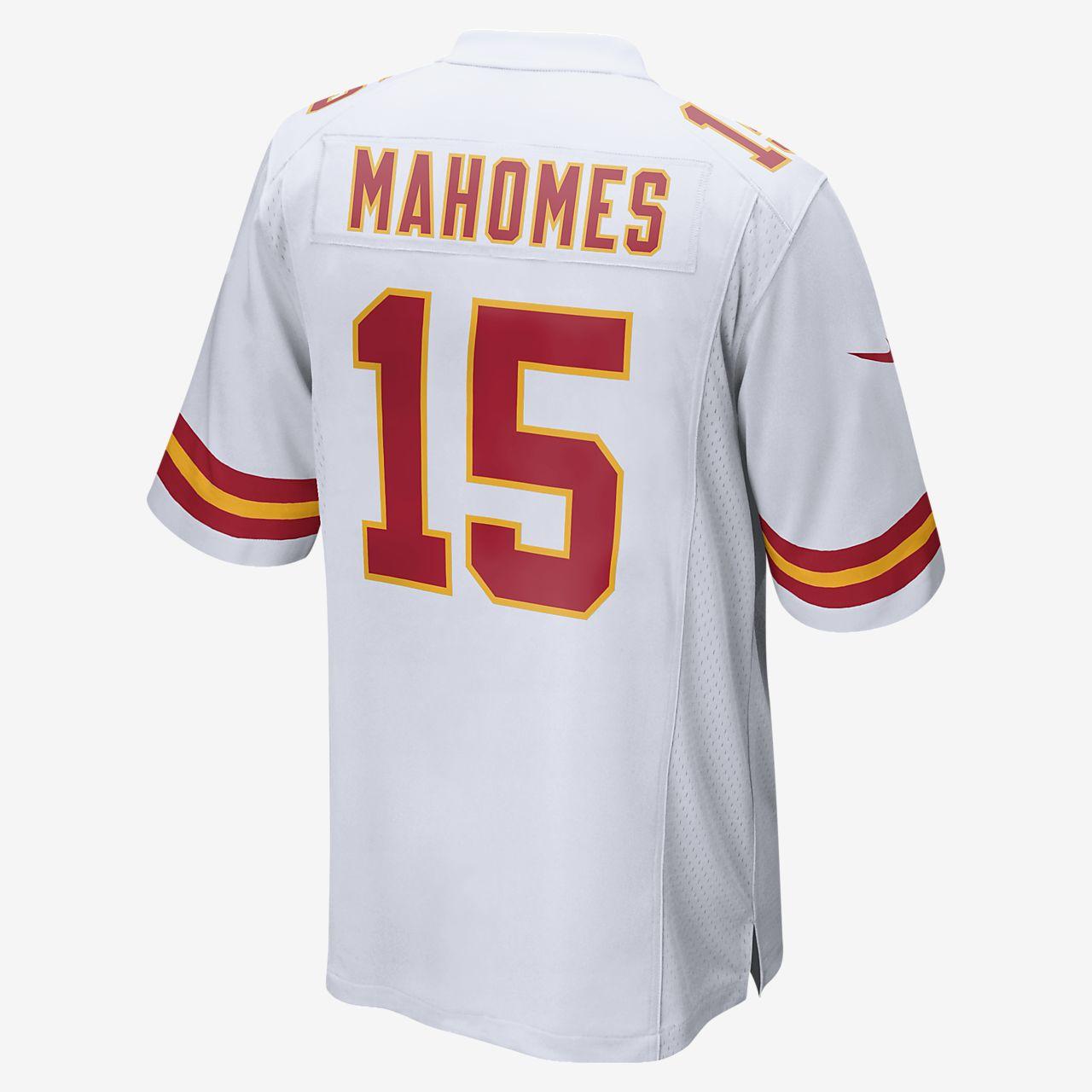 huge discount fc16e 79ea7 NFL Kansas City Chiefs Game (Patrick Mahomes) Men's Football Jersey