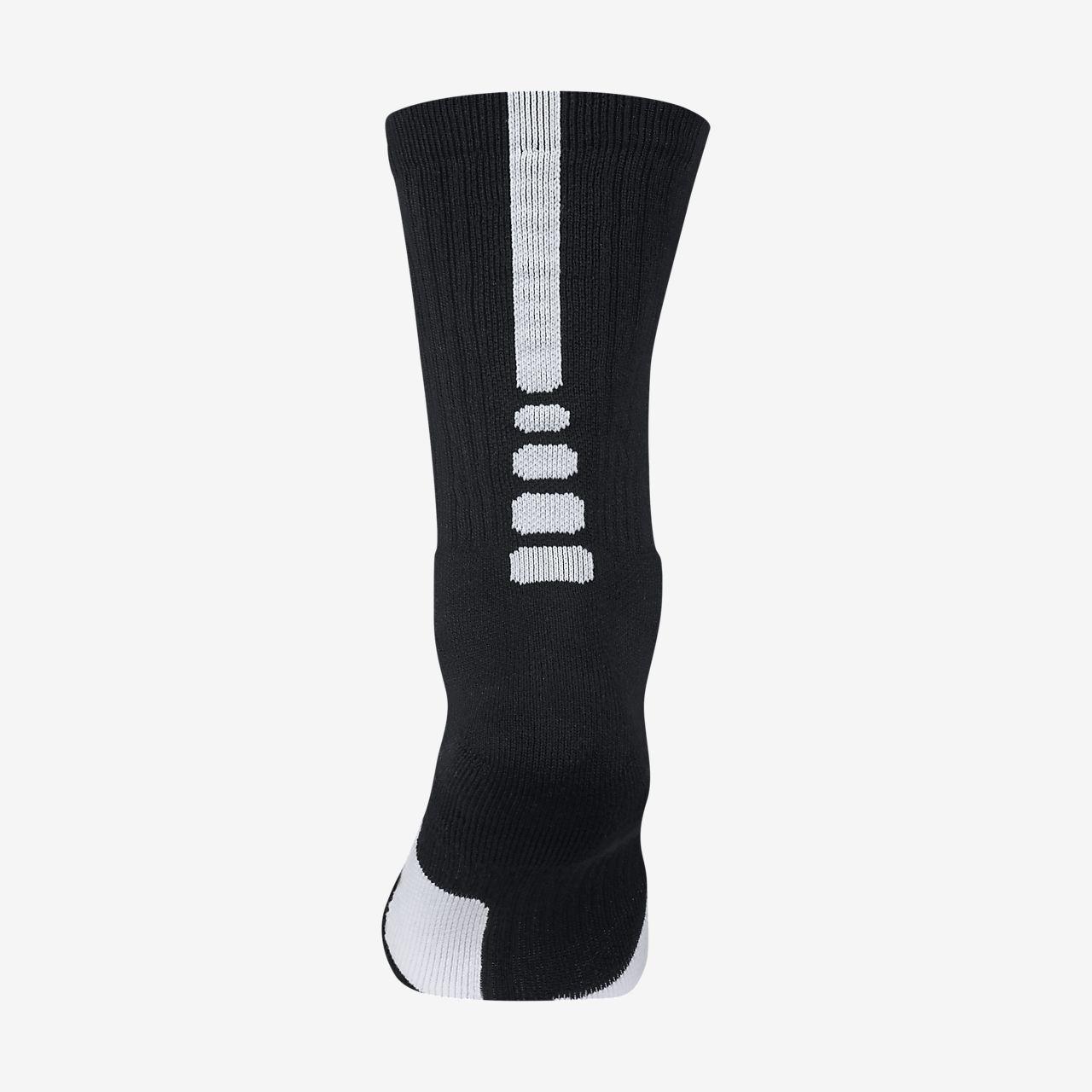 chaussettes de basketball nike dry elite 1 5 crew ca. Black Bedroom Furniture Sets. Home Design Ideas