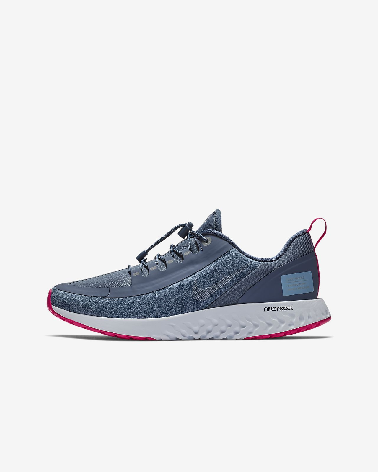 separation shoes df66a 087f8 ... Nike Legend React Shield Older Kids  Running Shoe