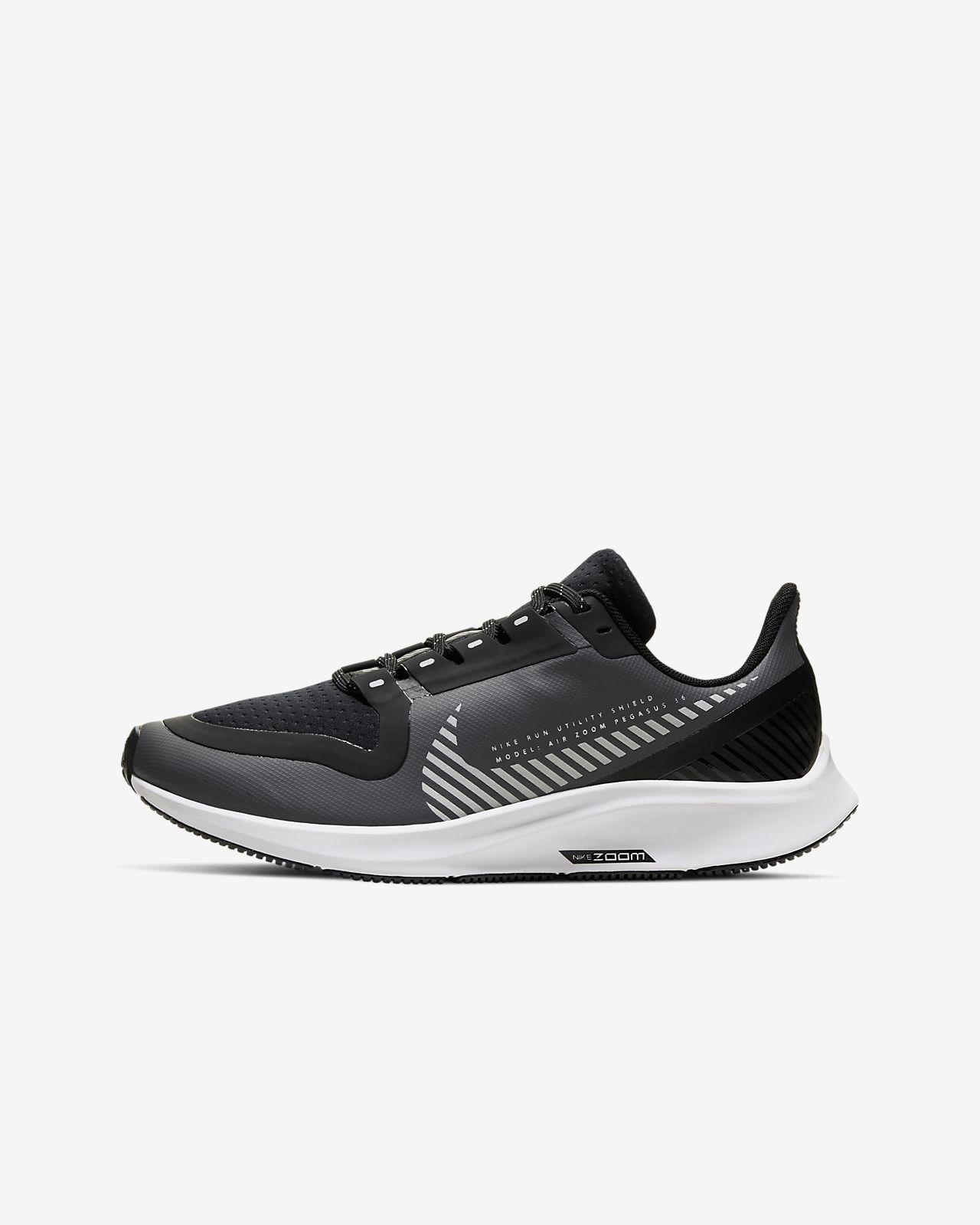 Nike Air Zoom Pegasus 36 Shield Older Kids' Running Shoe