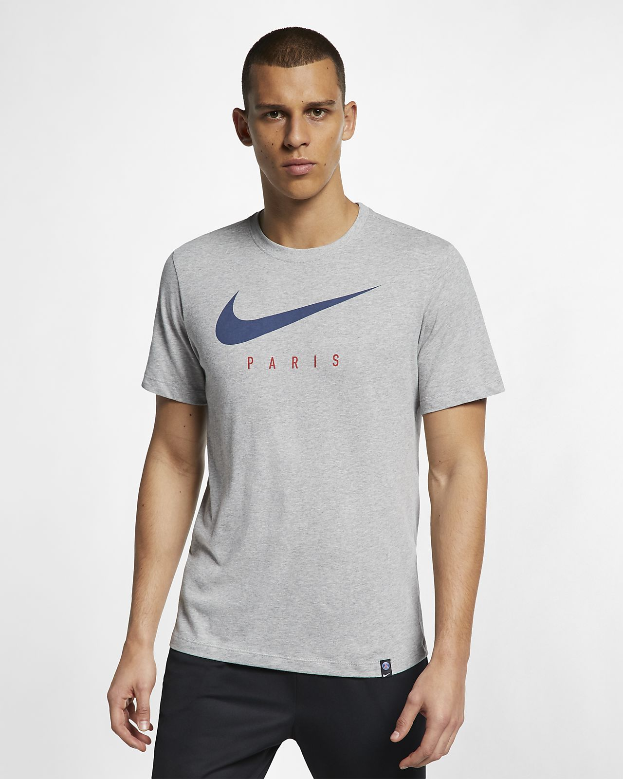 Tee-shirt de football Nike Dri-FIT Paris St-Germain pour Homme