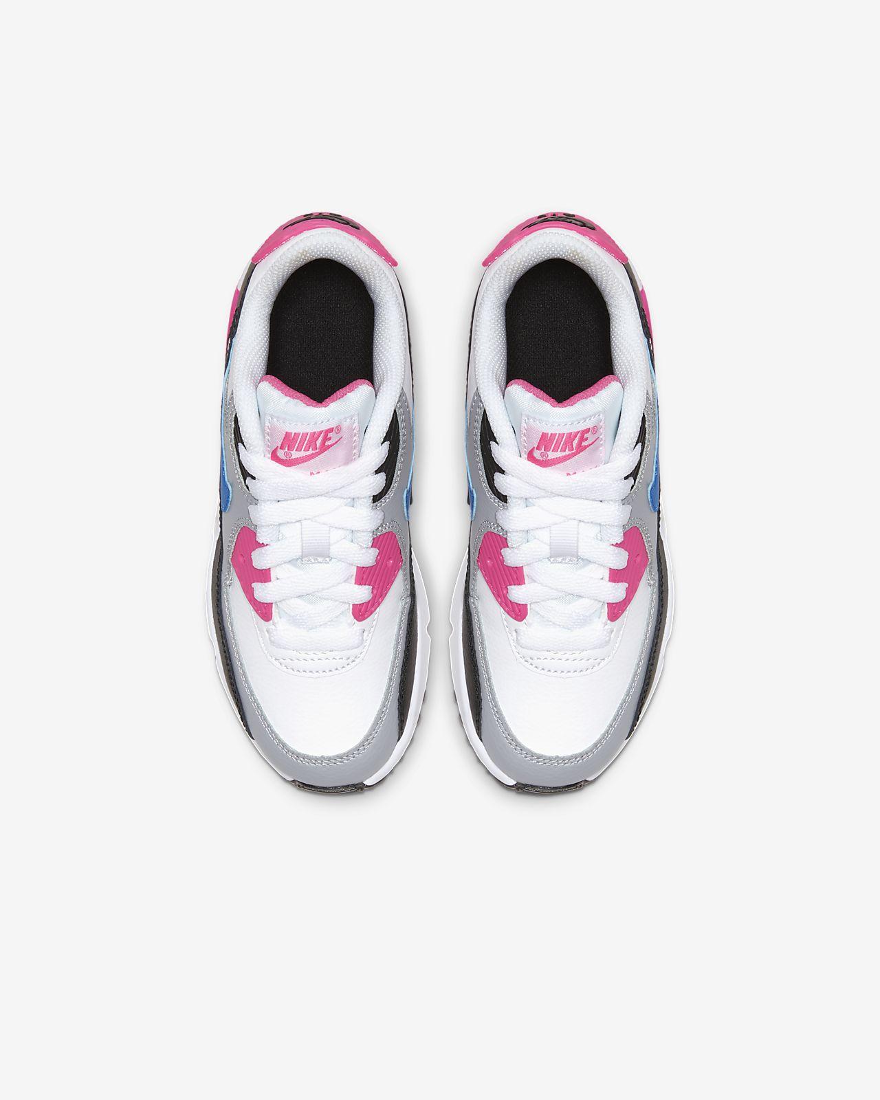 ba6362a7 Nike Air Max 90 Leather Little Kids' Shoe