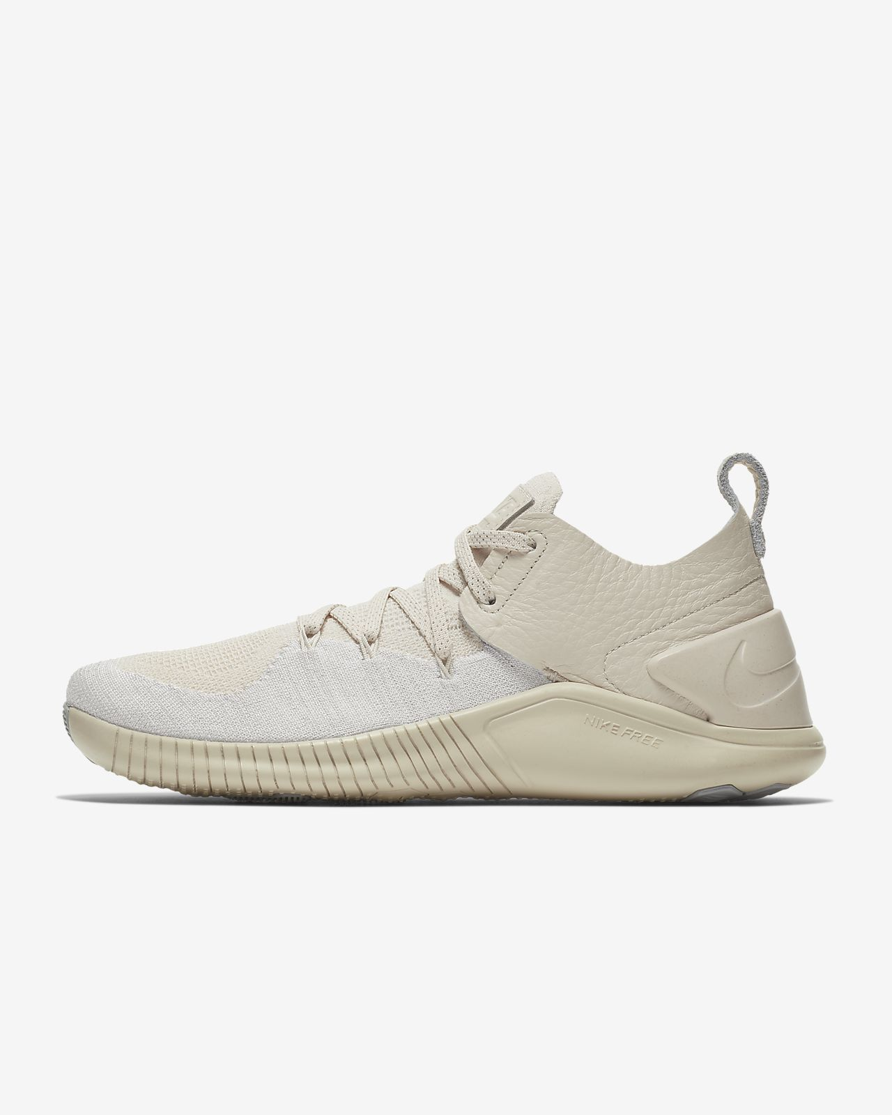 save off 85d16 b1aa6 ... Chaussure de training Nike Free TR Flyknit 3 Champagne pour Femme