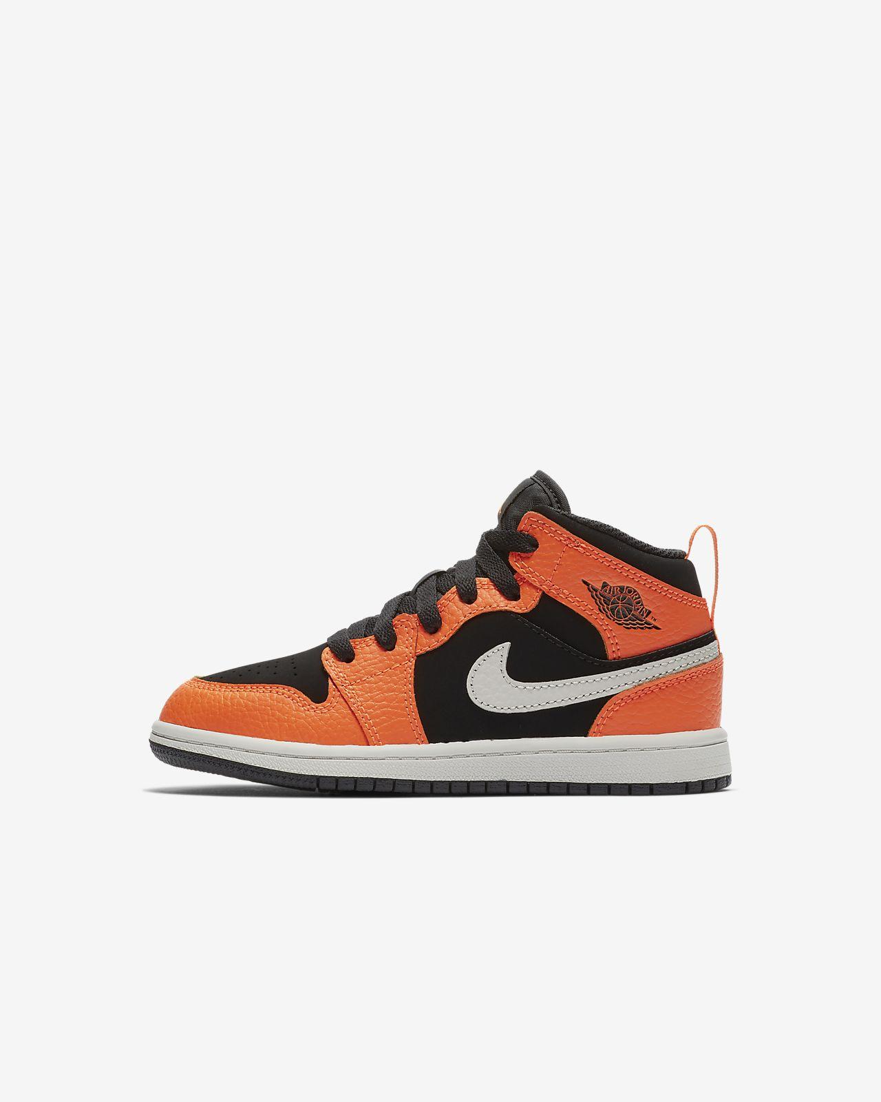 a8ef6ae4cfb ... Air Jordan 1 Mid Little Kids  Shoe