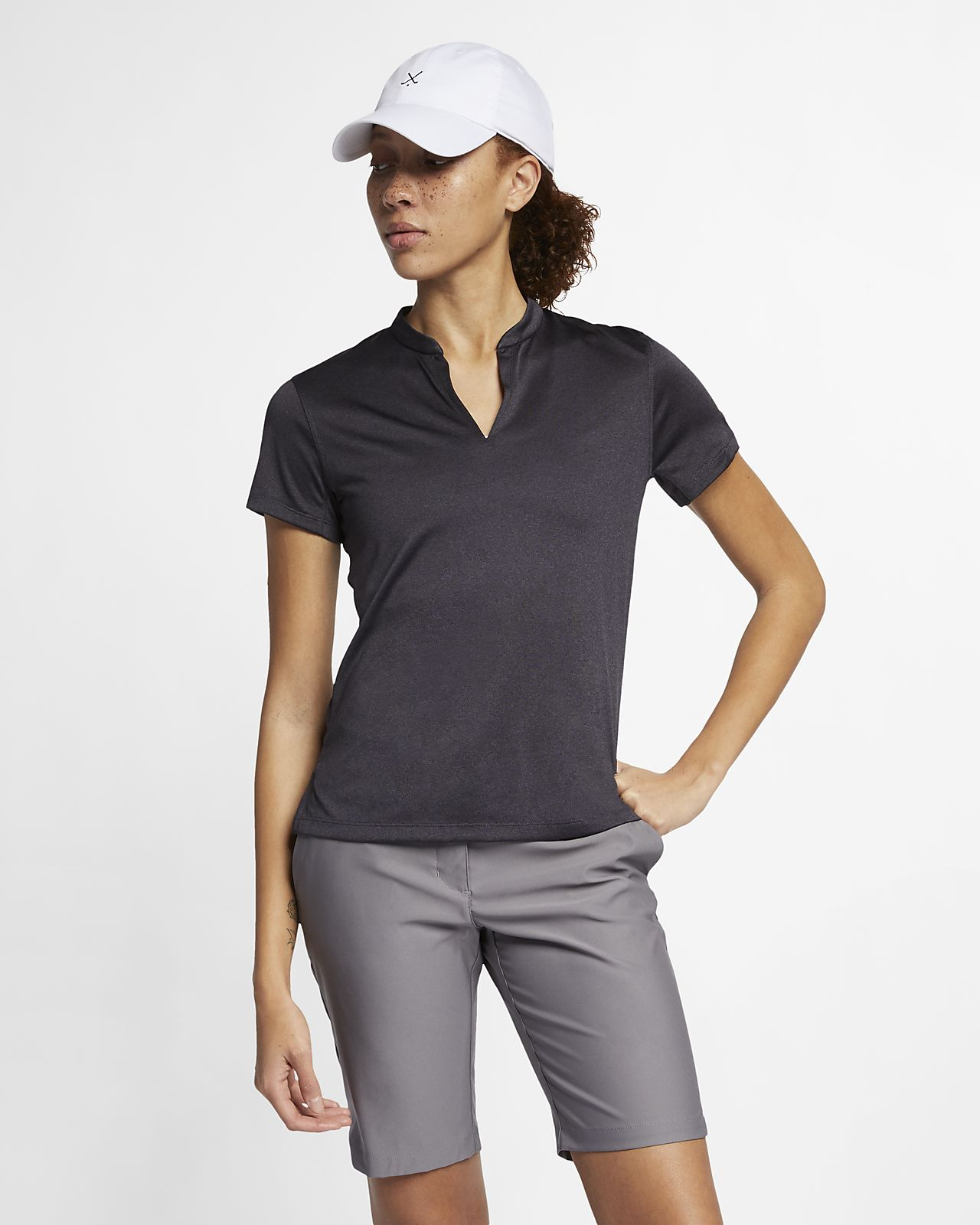 Polo de golf para mujer Nike TechKnit Cool