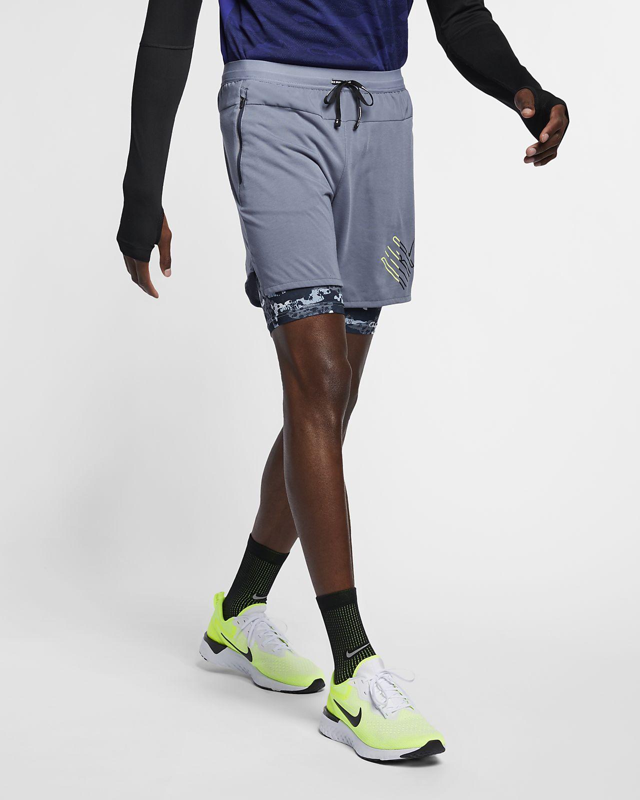 Short de running 2 en 1 Nike Wild Run pour Homme