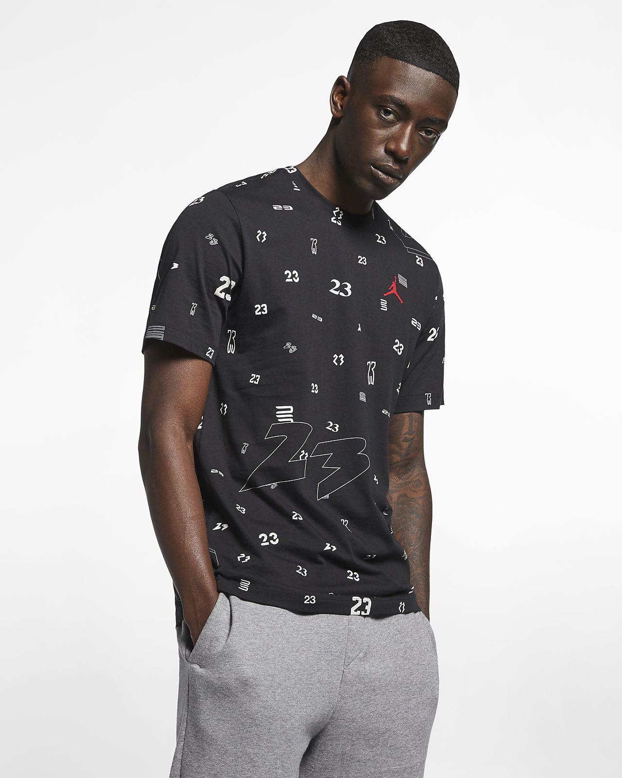 c92c2e30f75c3e Jordan 23 Men s Printed T-Shirt. Nike.com IN