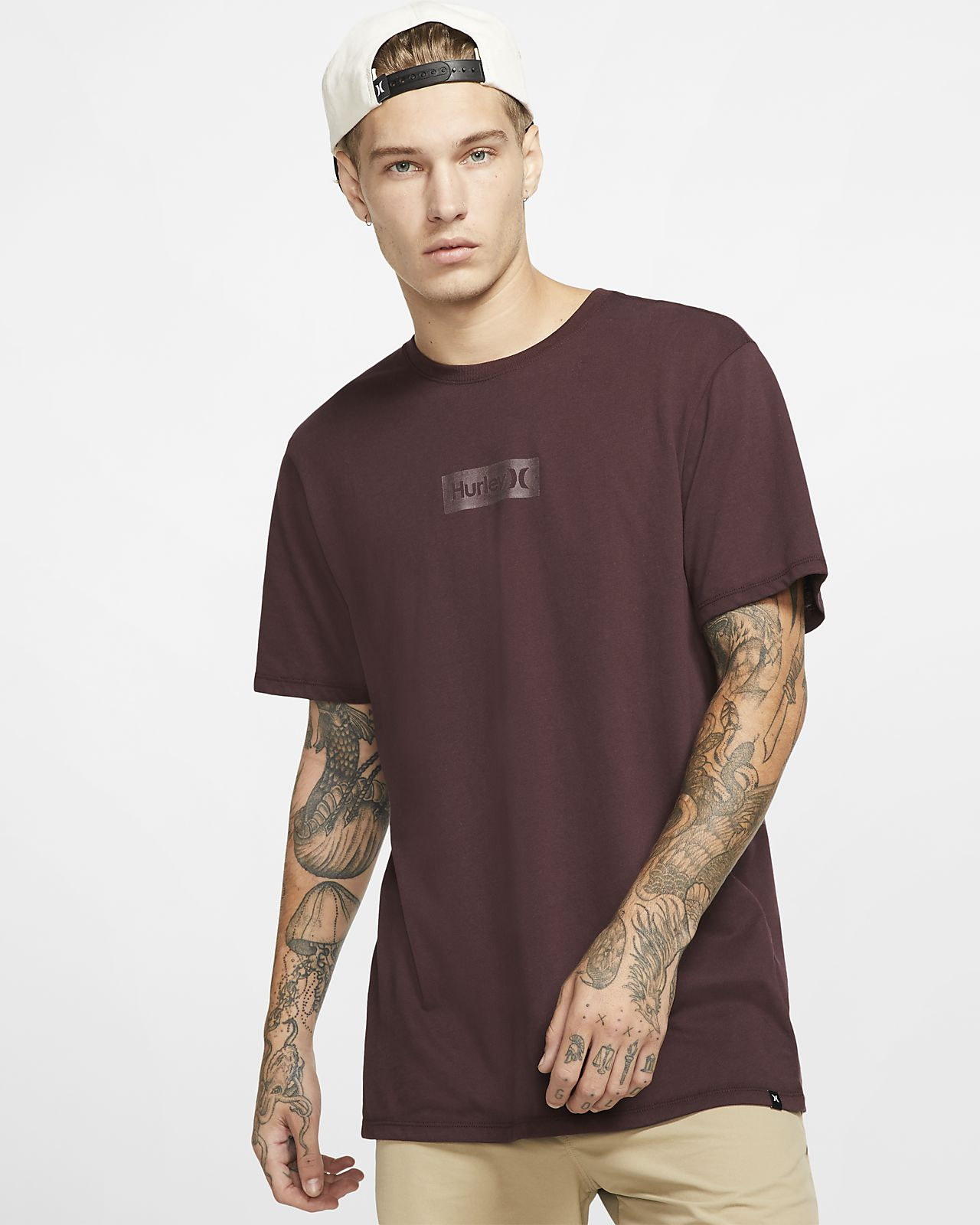 Hurley Dri-FIT One And Only Small Box Reflective Camiseta - Hombre