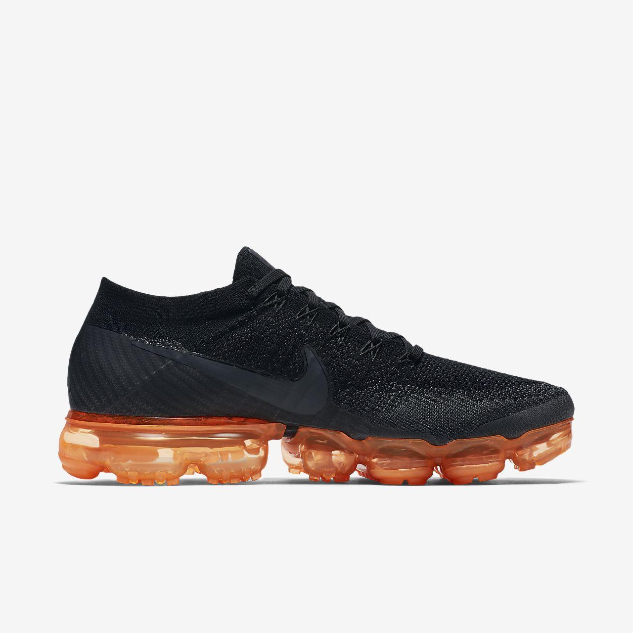 45758e2b88e2 Nike Air VaporMax Flyknit Black Pop Men s Shoe. Nike.com SG