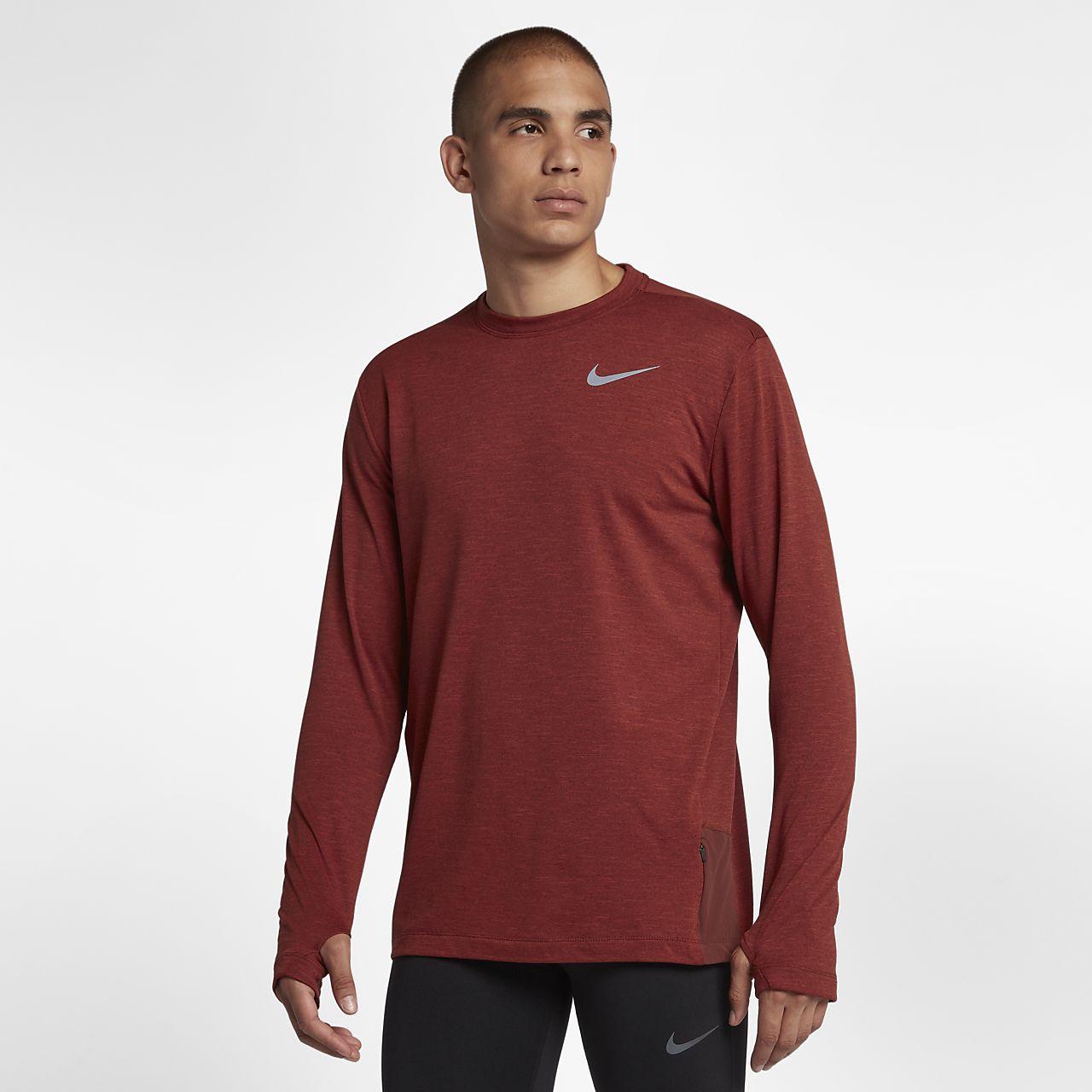 Långärmad löpartröja Nike Sphere 2.0 för män