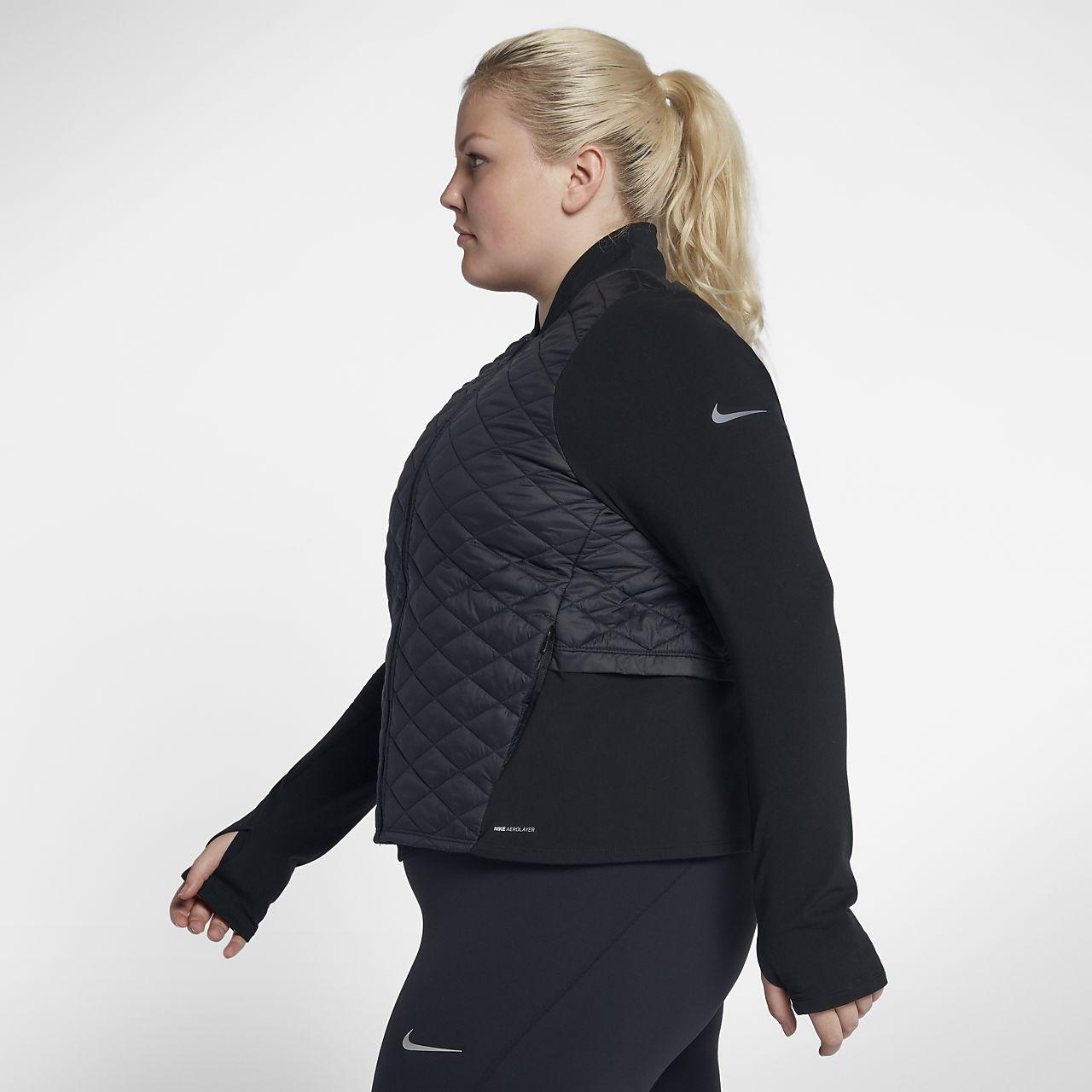 4dfb10b3610b Nike AeroLayer Women s Running Jacket (Plus Size). Nike.com AU