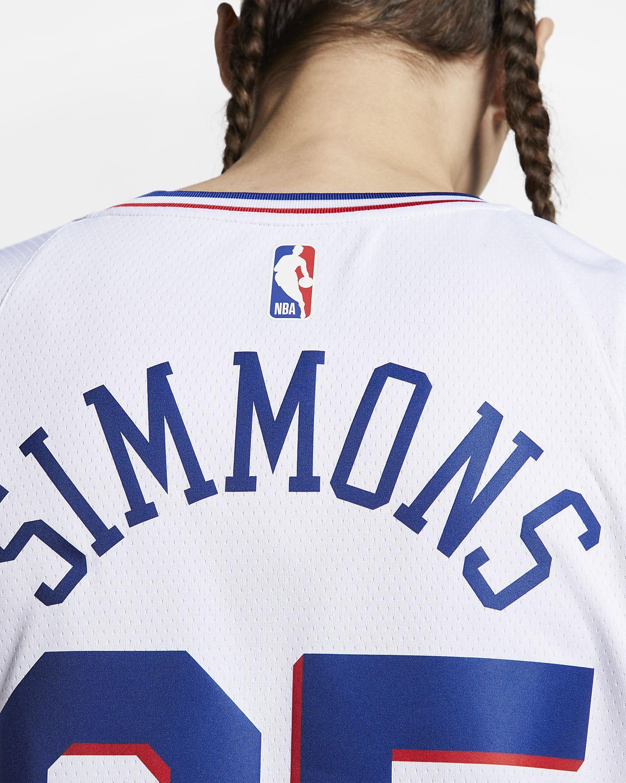 059e8e3ff ... Ben Simmons Earned City Edition Swingman (Philadelphia 76ers) Men s Nike  NBA Connected Jersey