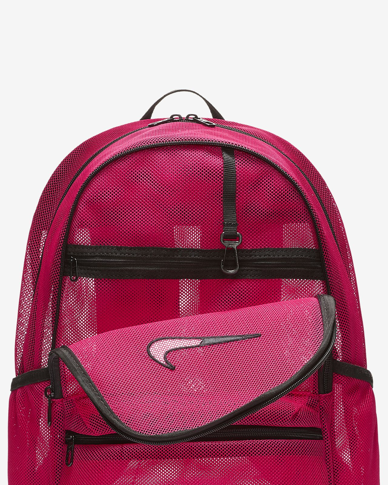 Low Resolution Nike Brasilia Mesh Training Backpack Nike Brasilia Mesh  Training Backpack 0d670e1227500