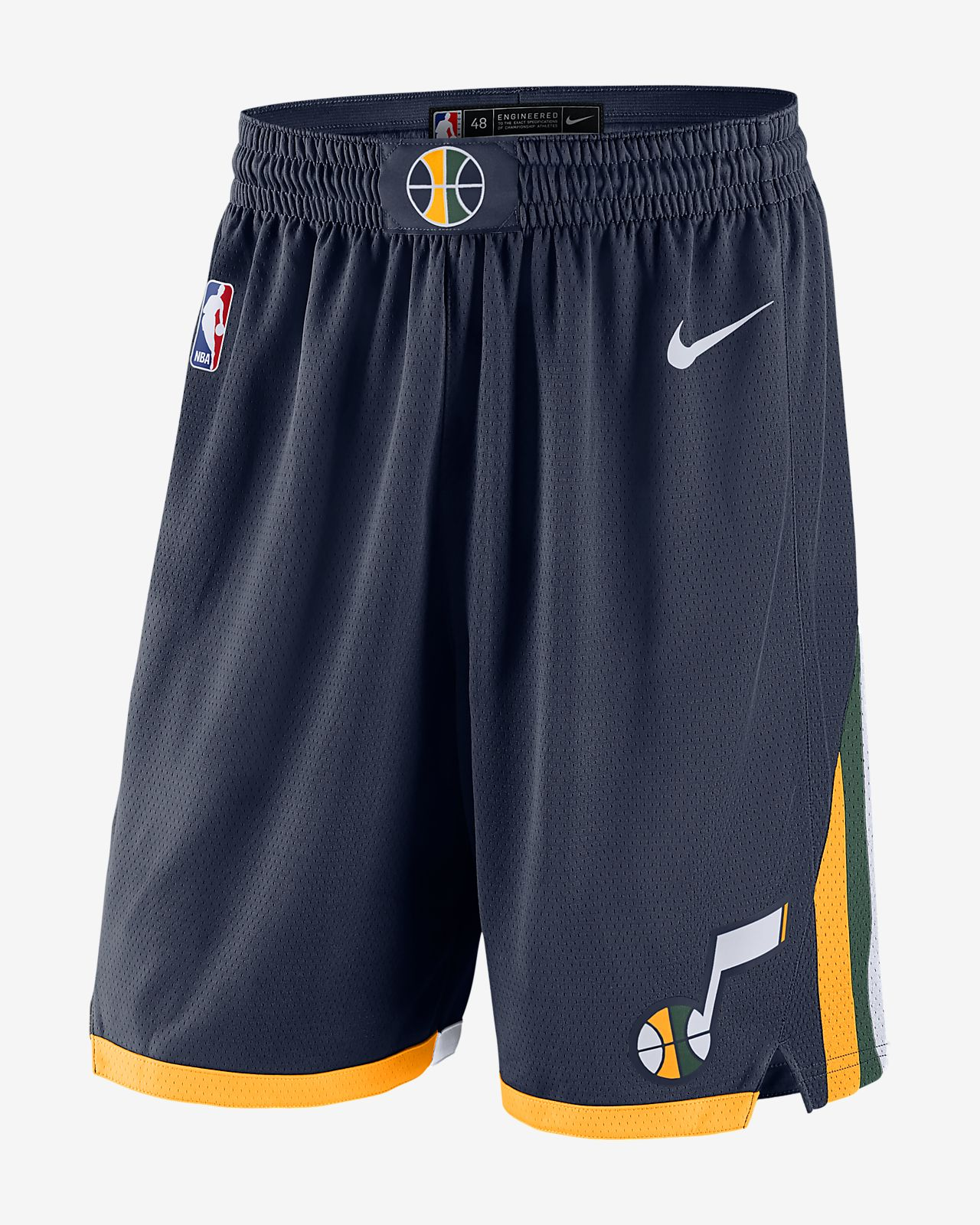 a7f2c44f3ef Utah Jazz Icon Edition Swingman Men s Nike NBA Shorts. Nike.com ZA