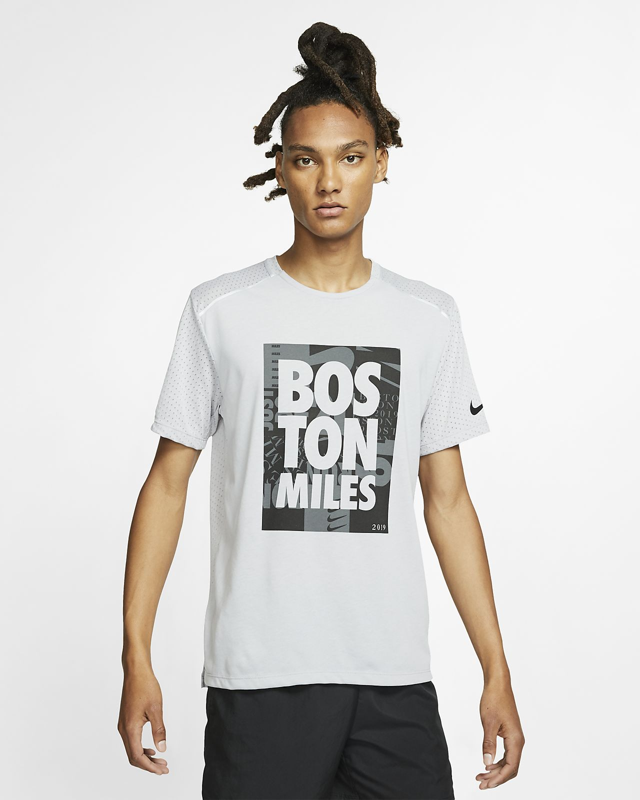 Nike Rise 365 (Boston 2019) Men's Running Top