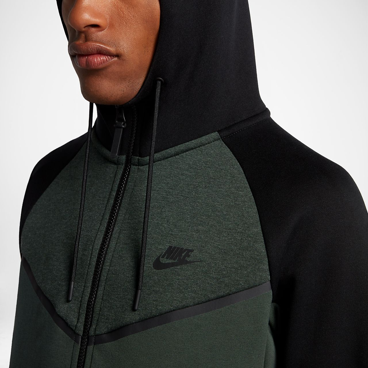 f9be1d41af09 Nike Sportswear Tech Fleece Windrunner Men s Full-Zip Hoodie. Nike ...