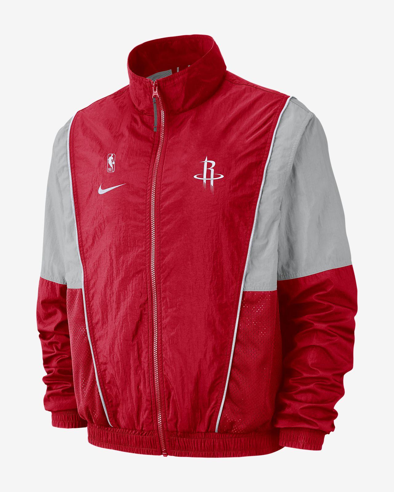 the latest ddec8 ab9bc ... Houston Rockets Nike Men s NBA Tracksuit Jacket