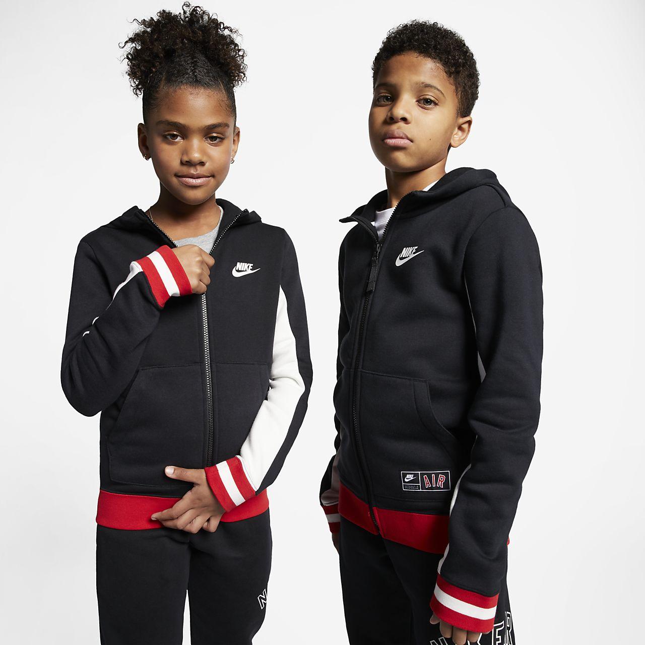 Nike Air Hoodie für ältere Kinder (Jungen) mit durchgehendem Reißverschluss 9e37f8783b
