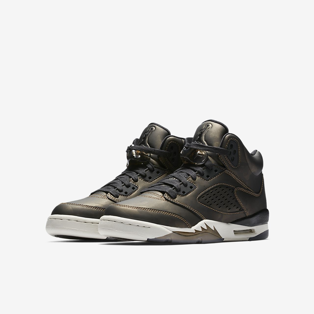 the best attitude 4ab95 8bc24 ... Chaussure Air Jordan 5 Retro Premium Heiress Collection pour Enfant  plus âgé