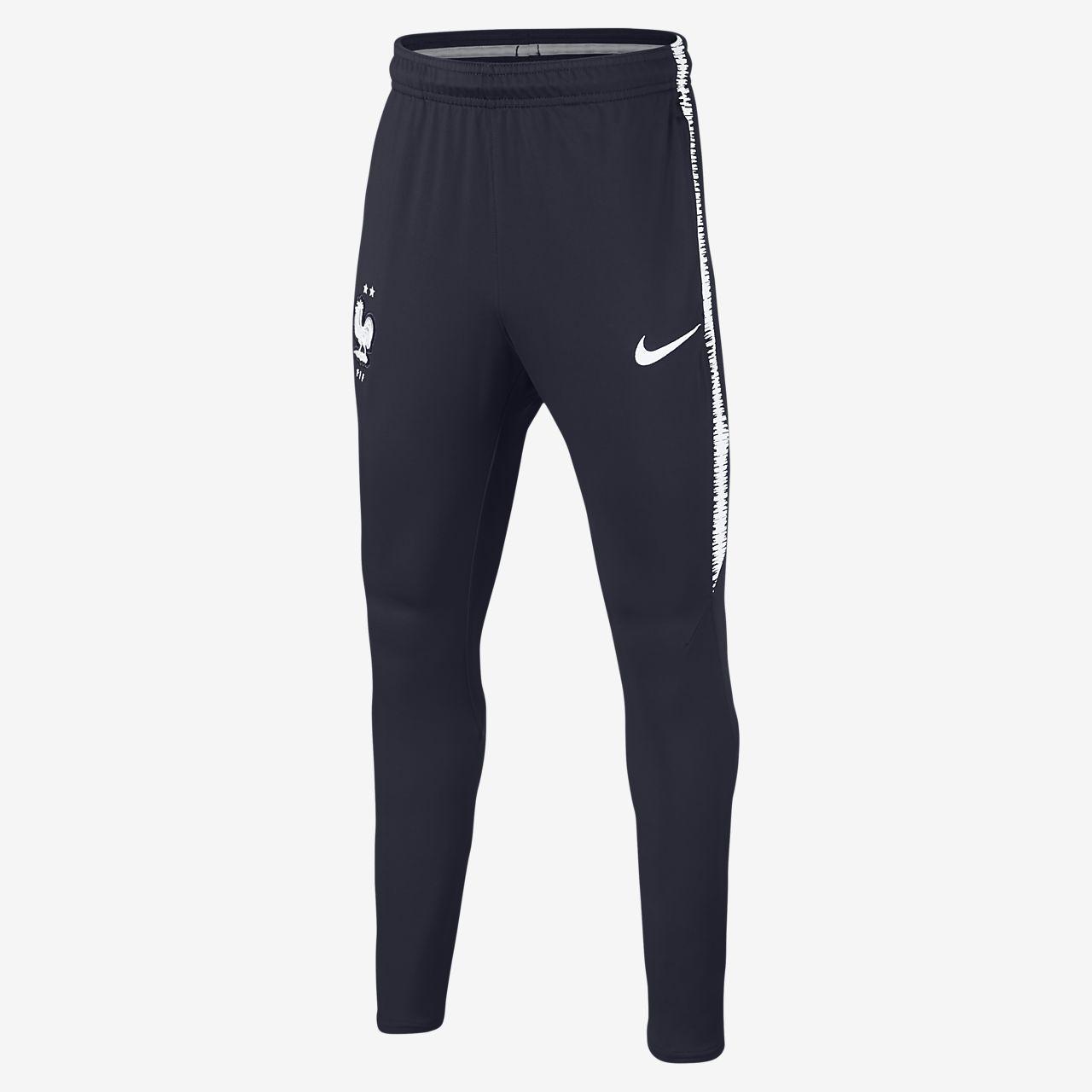 Футбольные брюки для школьников FFF Dri-FIT Squad