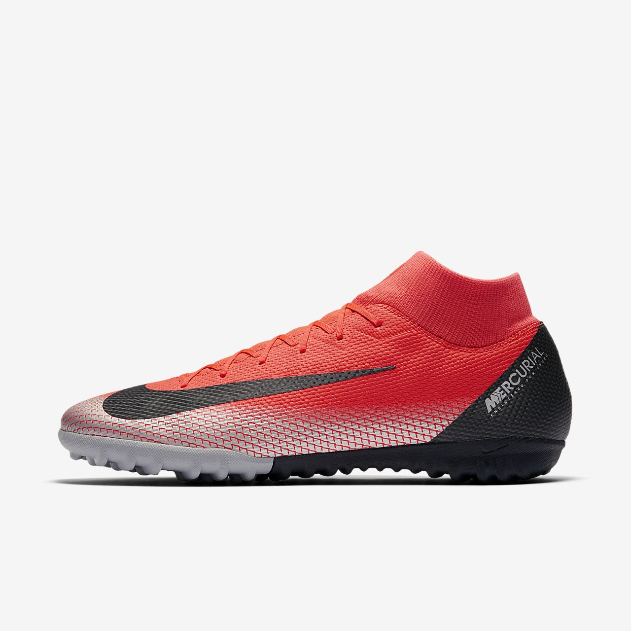 hot sale online 64dd6 7cf79 Chaussure de football à crampons pour terrain synthétique CR7 SuperflyX 6  Academy