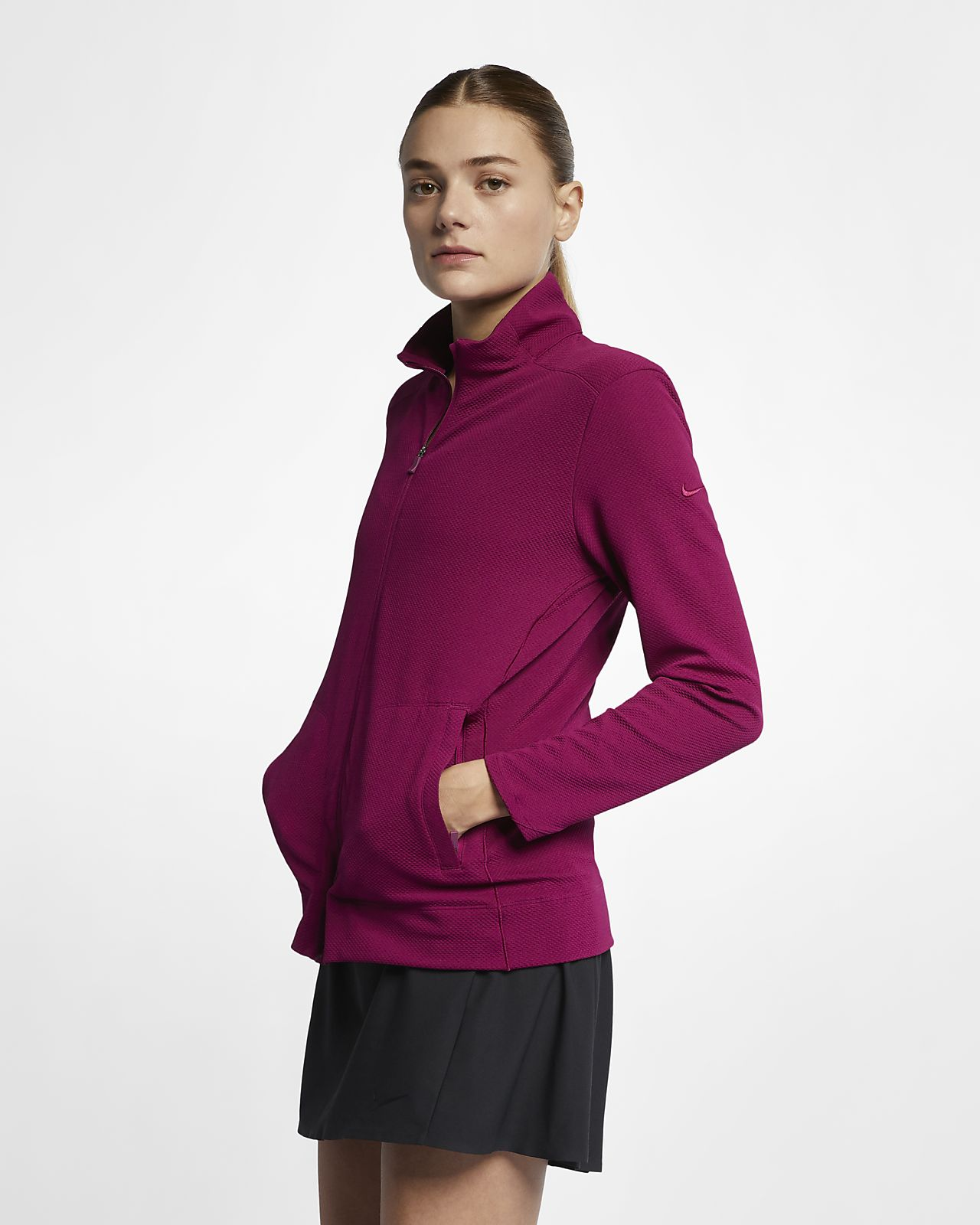 Nike Dri-FIT UV Damen-Golfjacke