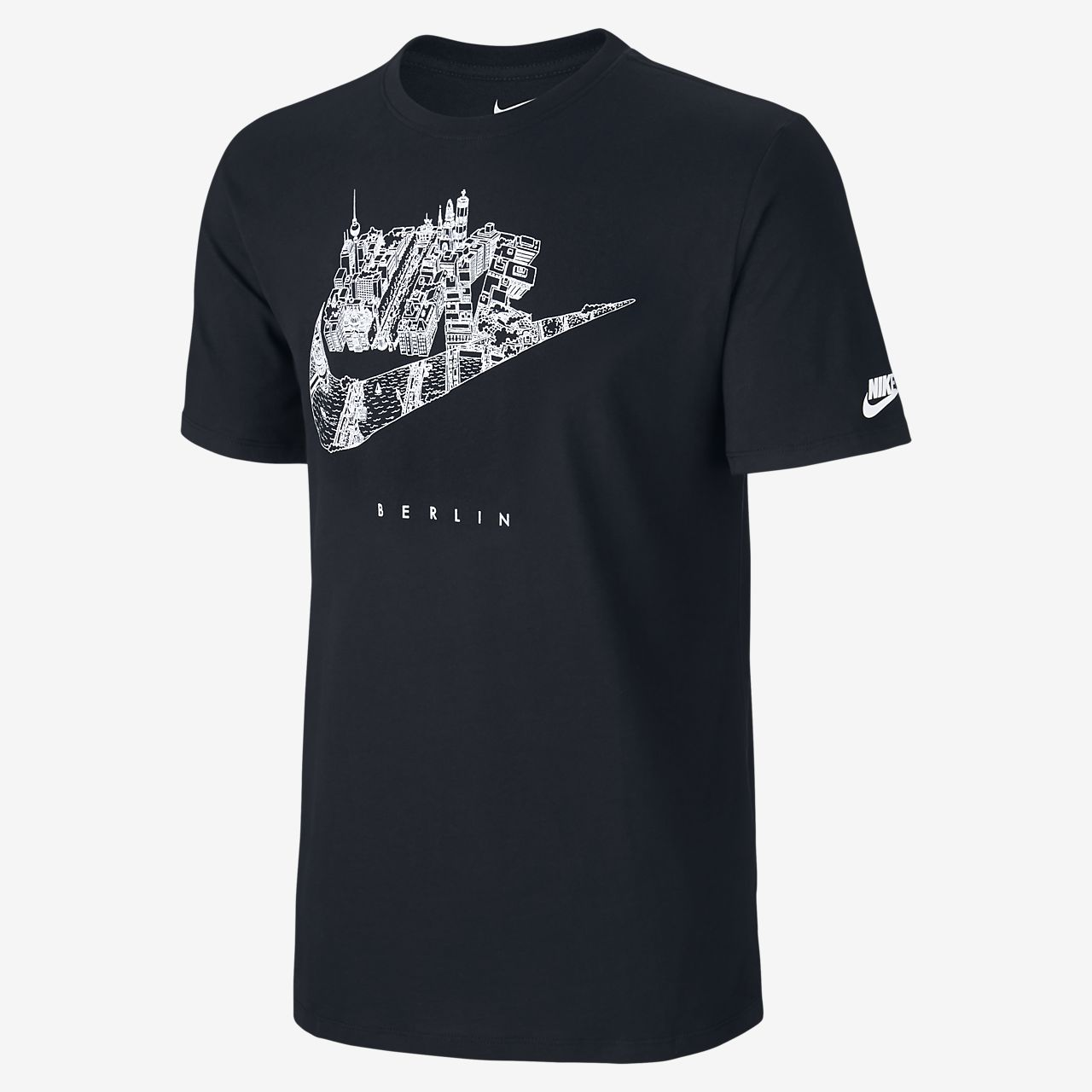 nike cityscape berlin men 39 s t shirt gb. Black Bedroom Furniture Sets. Home Design Ideas
