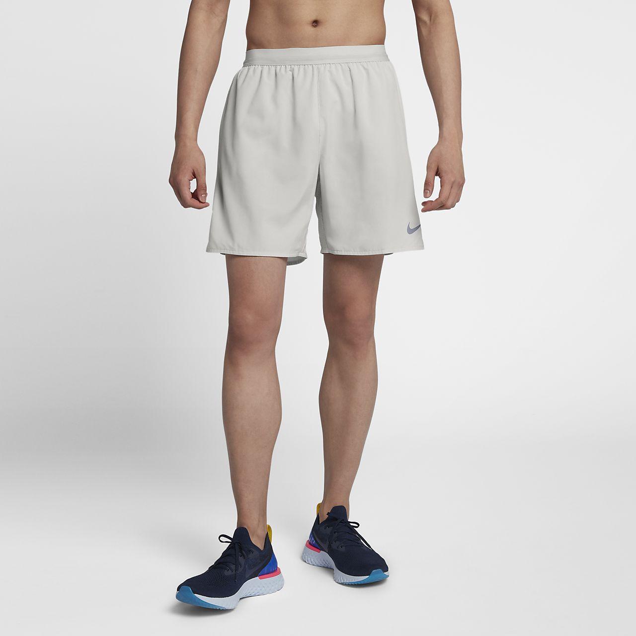 Calções de running forrados de 18 cm Nike Flex Stride para homem
