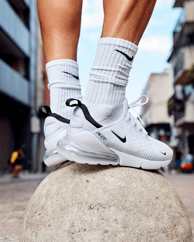 Nike Air Max 270 'White Black' (modèle homme & femme