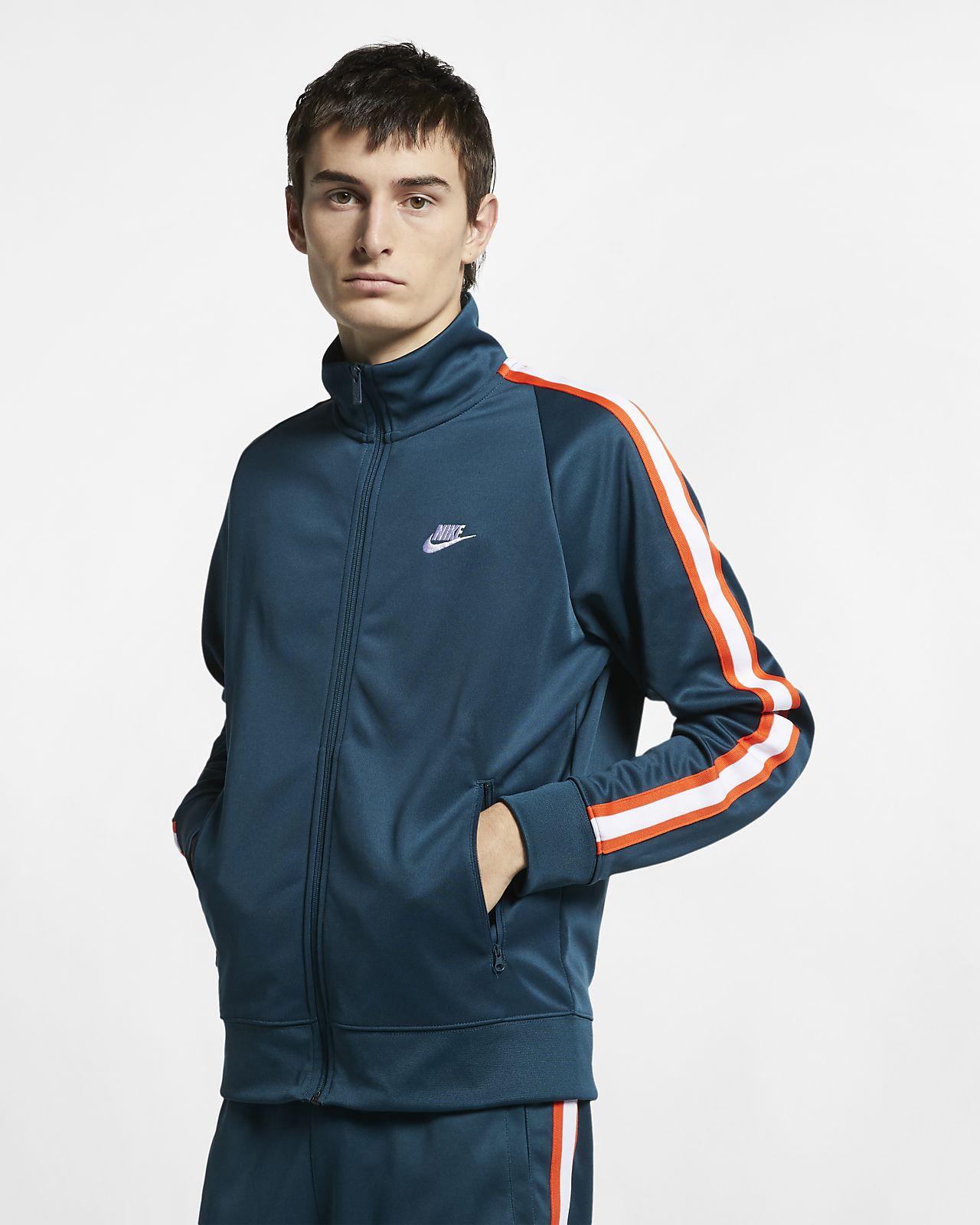 bdc4ede20 Nike Sportswear N98 Men's Knit Warm-Up Jacket. Nike.com SI