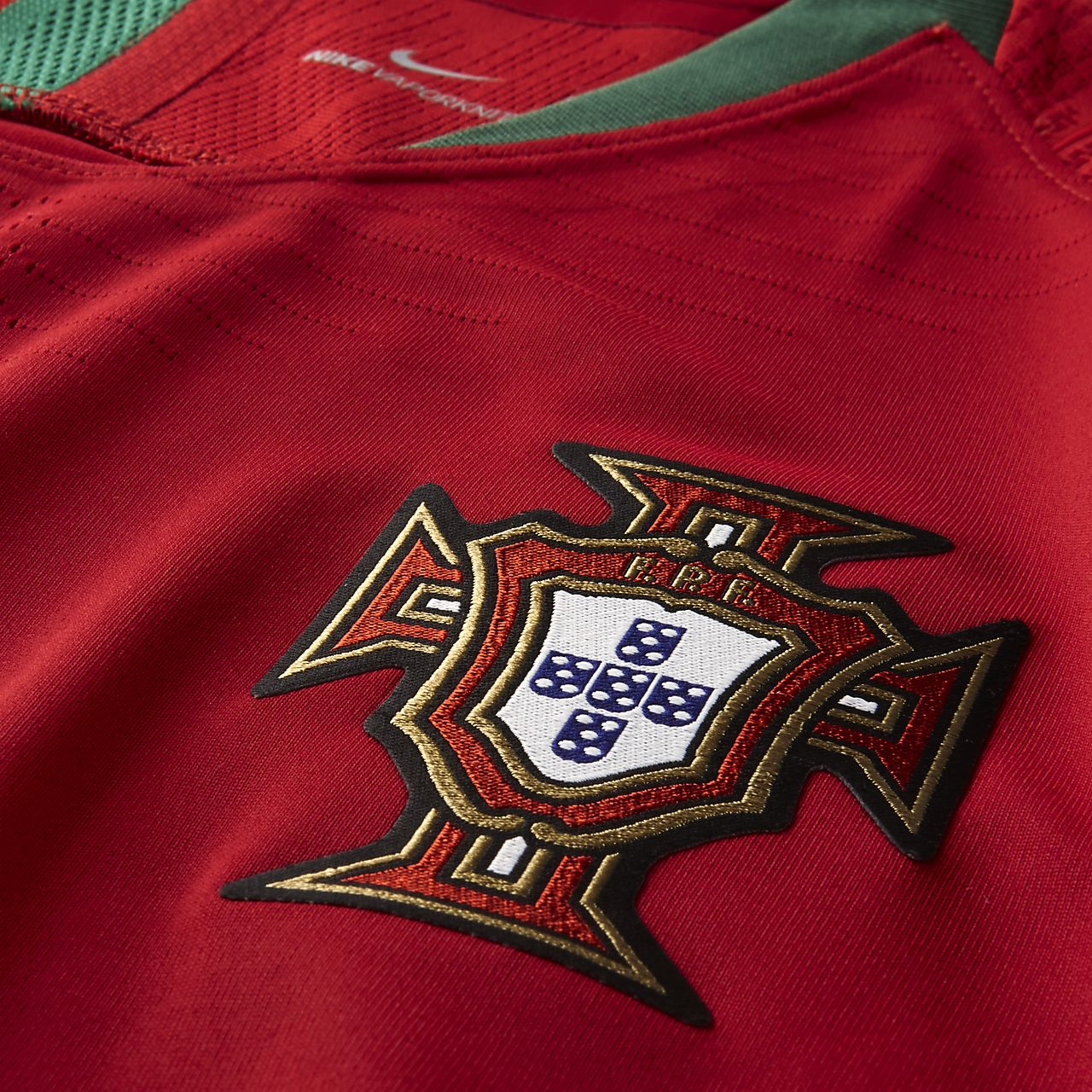 ... 2018 Portugal Vapor Match Home Men's Football Shirt