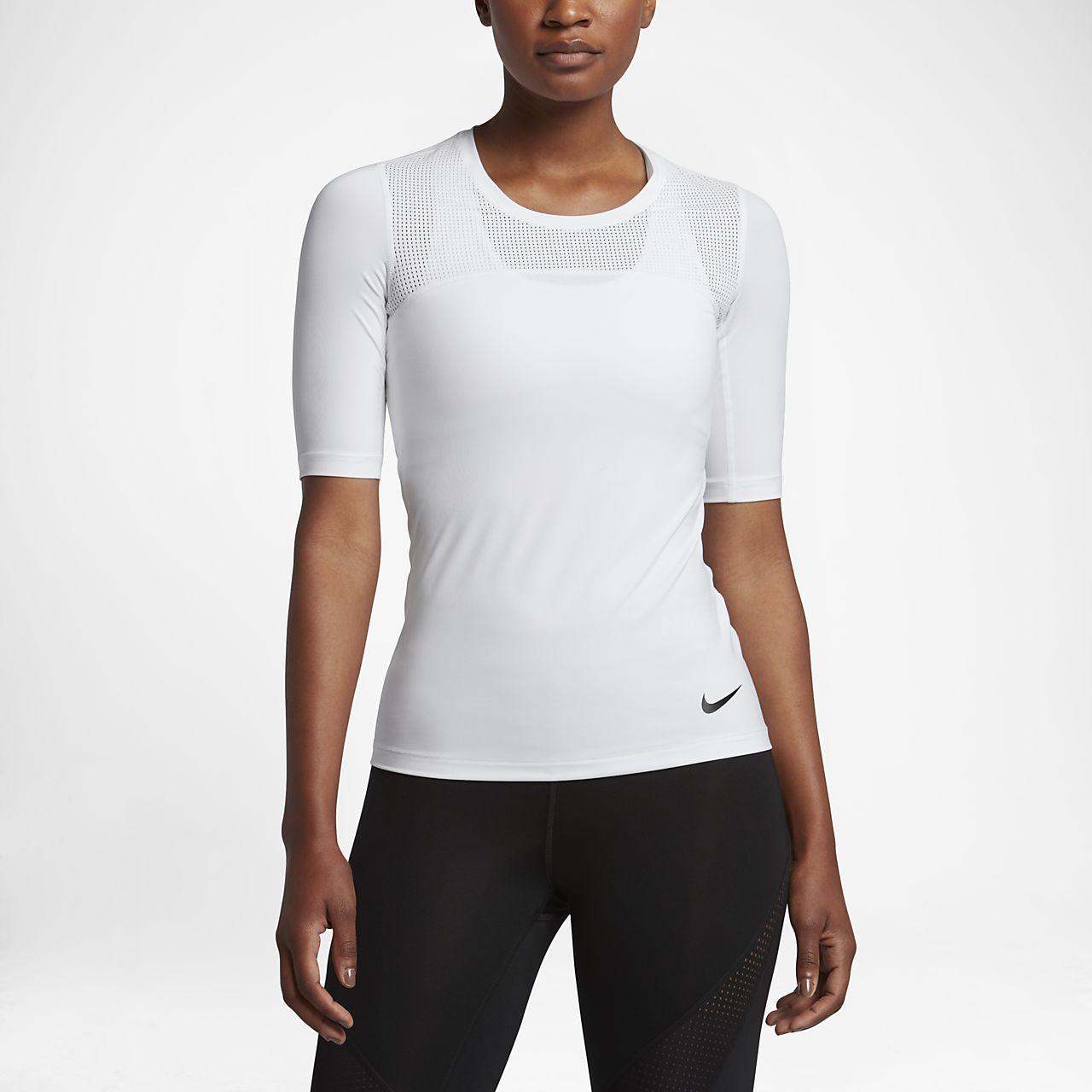 ... Nike Pro HyperCool Women's Short-Sleeve Training Top