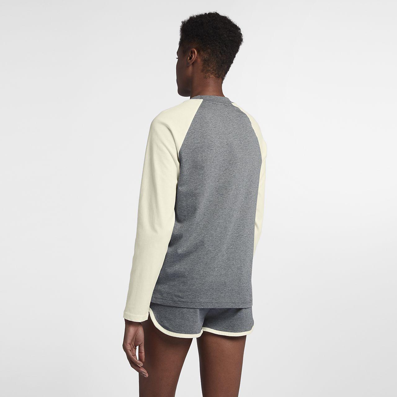 nike langarm shirt damen baumwolle