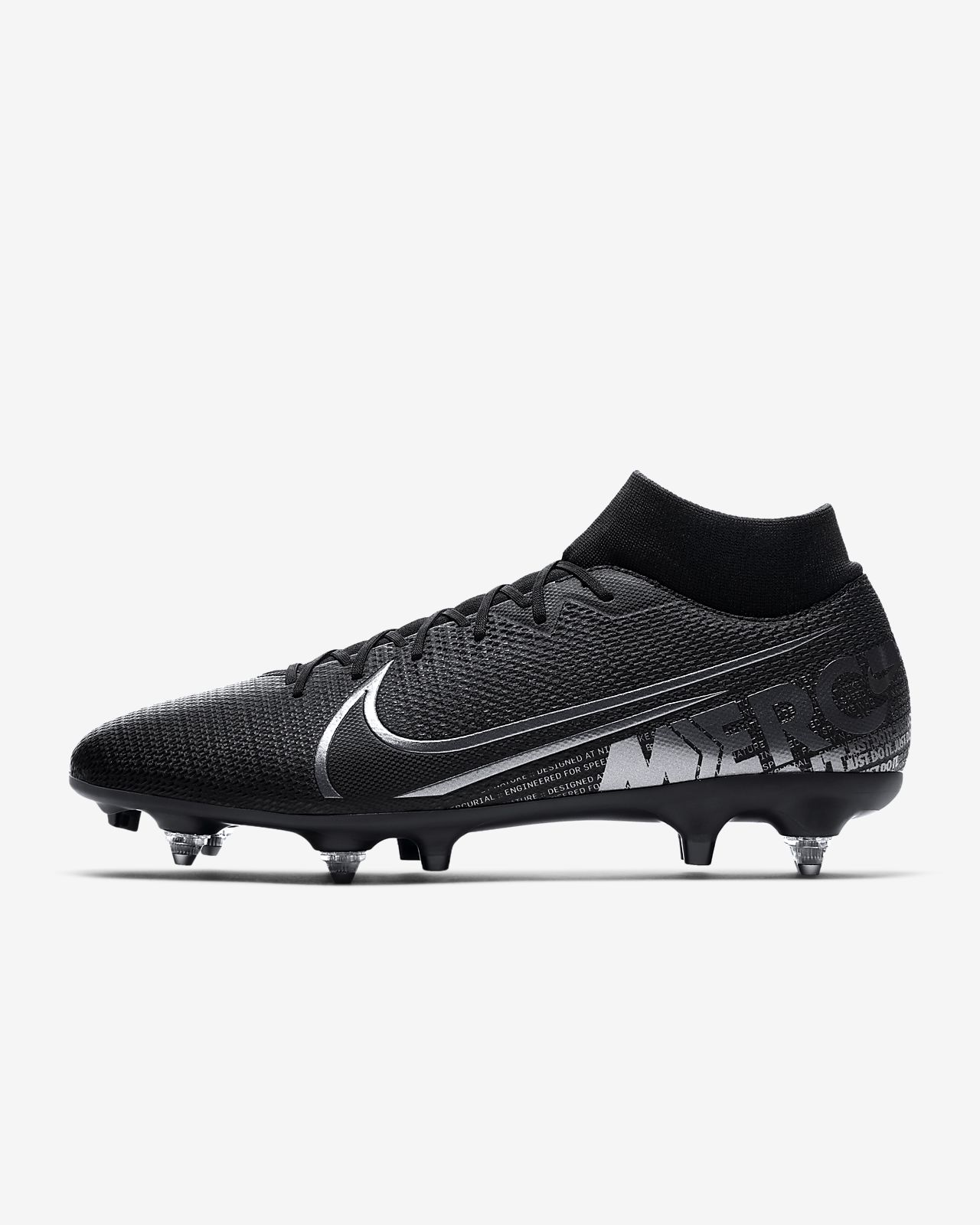 Chuteiras de futebol para terreno mole Nike Mercurial Superfly 7 Academy SG-PRO Anti-Clog Traction